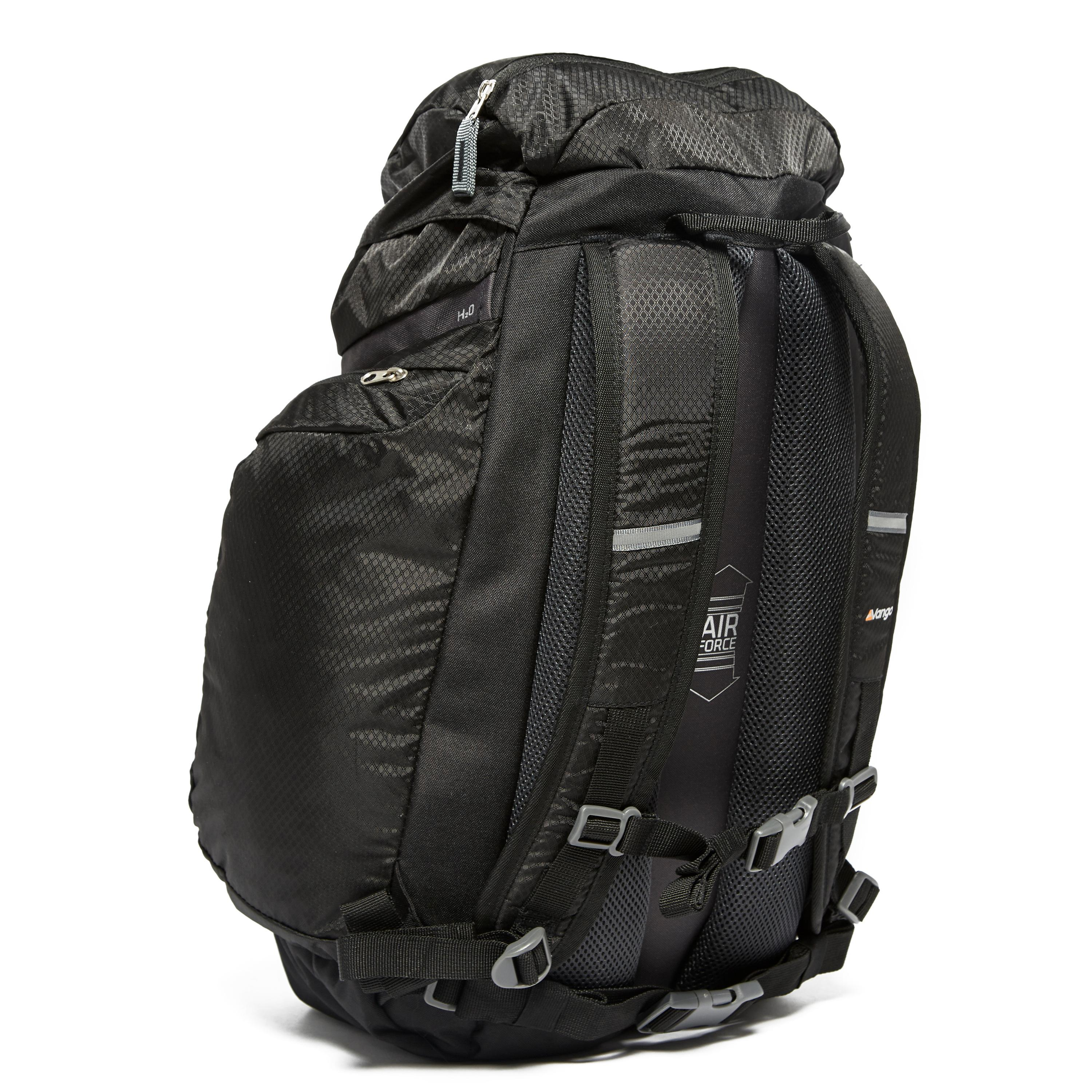 vango trail 35 litre rucksack black ebay. Black Bedroom Furniture Sets. Home Design Ideas