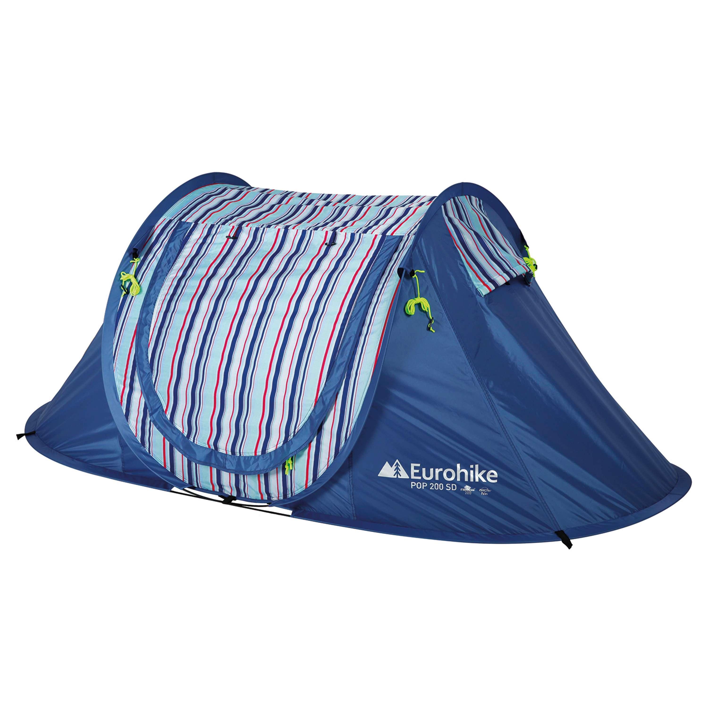 EUROHIKE Nautical Pop Up SD 2 Man Tent