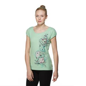 ONE EARTH Women's Floral Bird Tee