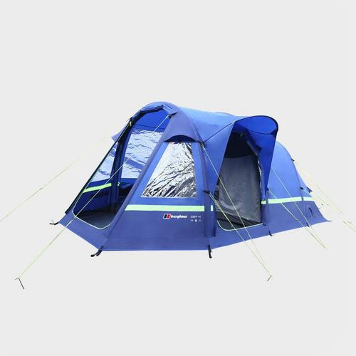 Berghaus Air 4 Man Family Tent - Blue