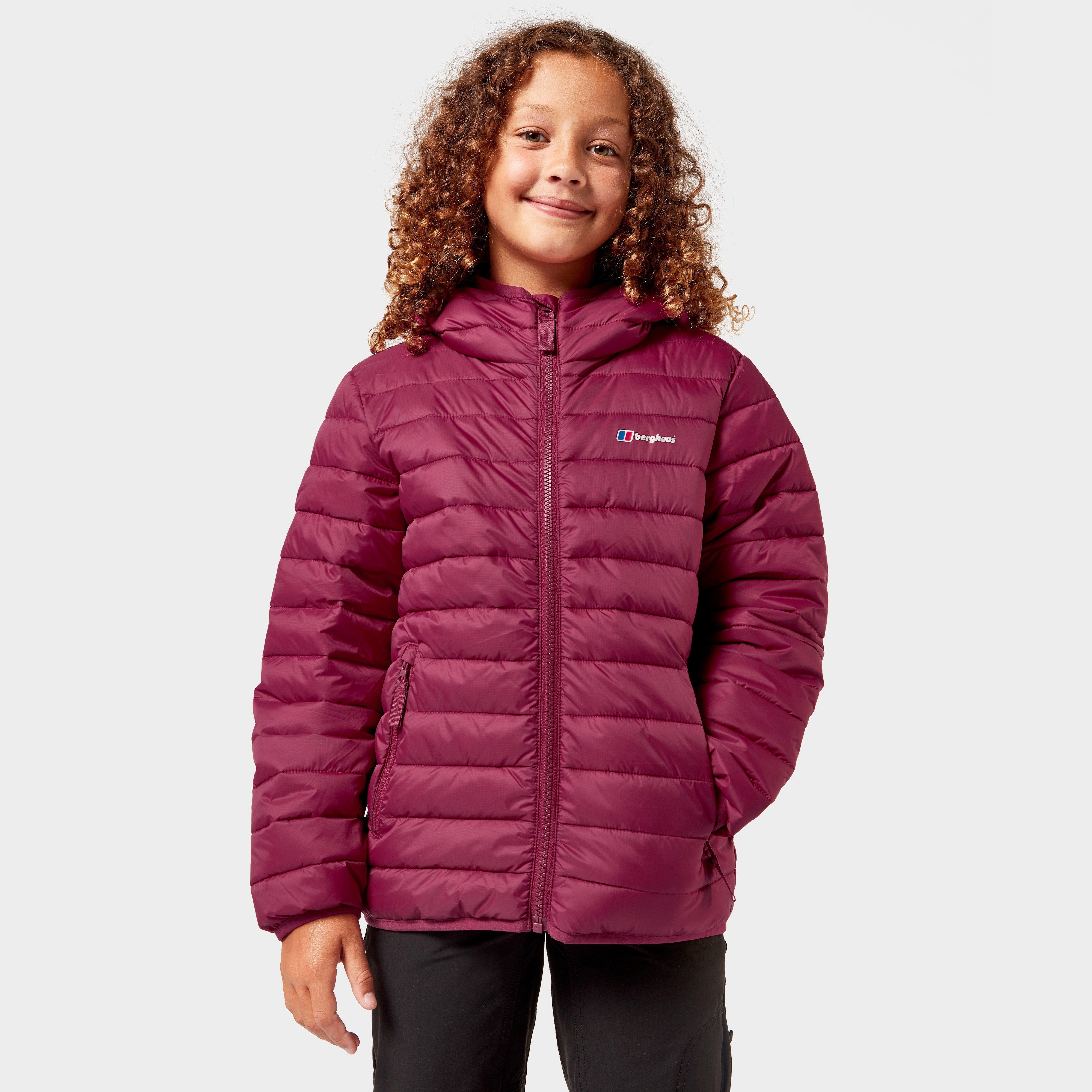 Berghaus Kids Kirkhale Baffle Jacket - Red  Red