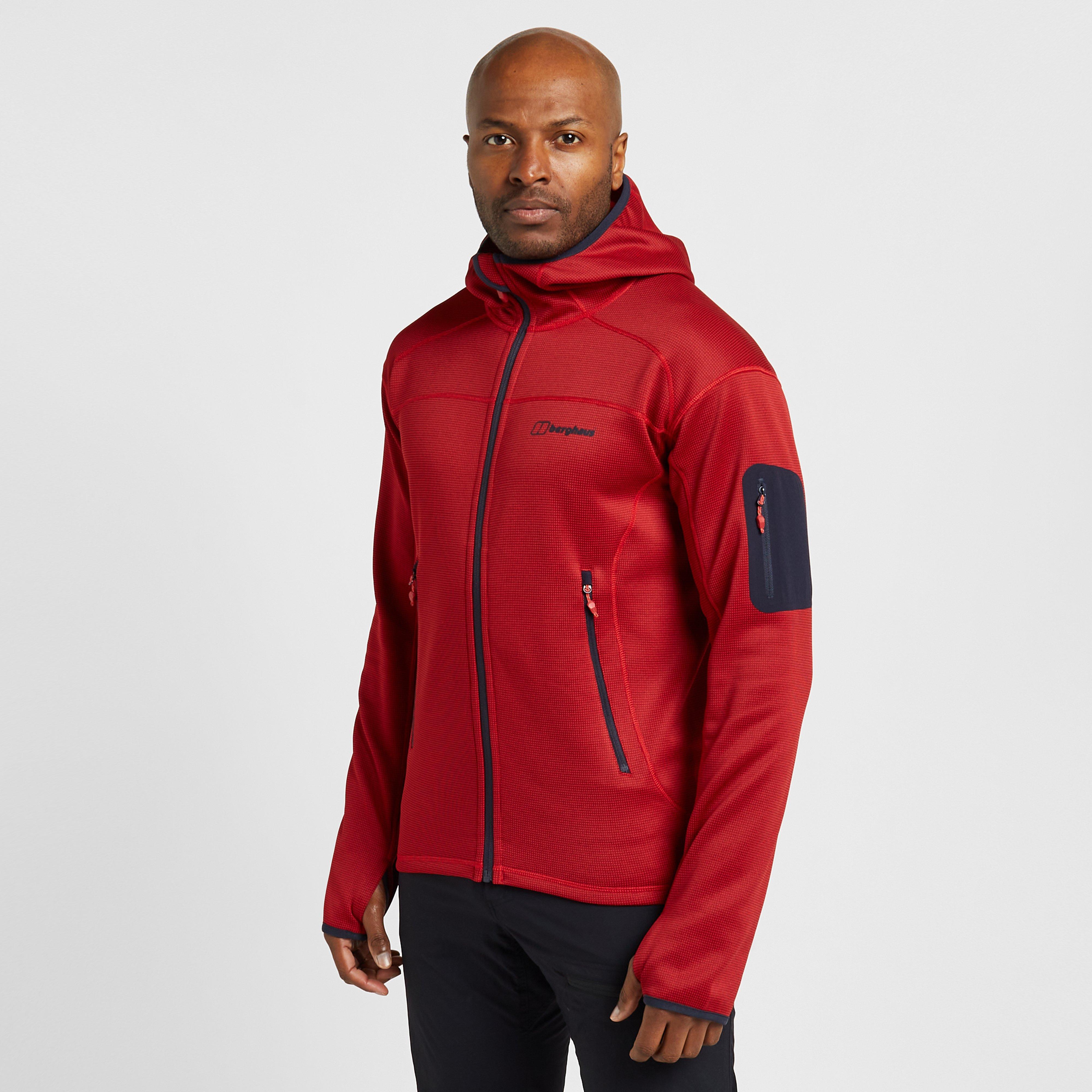 Berghaus Mens Pravitale Mtn 2.0 Hooded Jacket - Red/brd  Red/brd