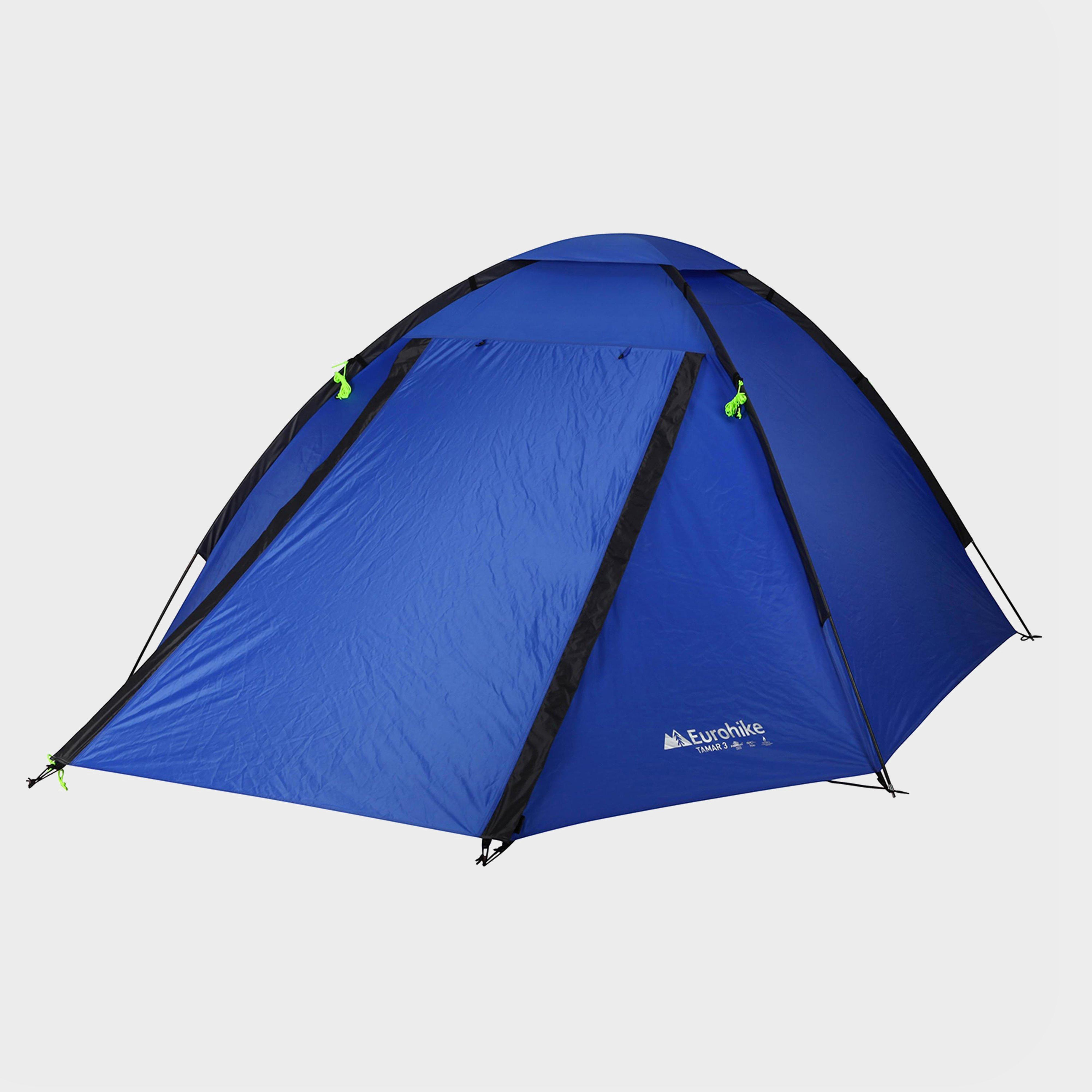 Eurohike Tamar 3 Tent  Blue Blue