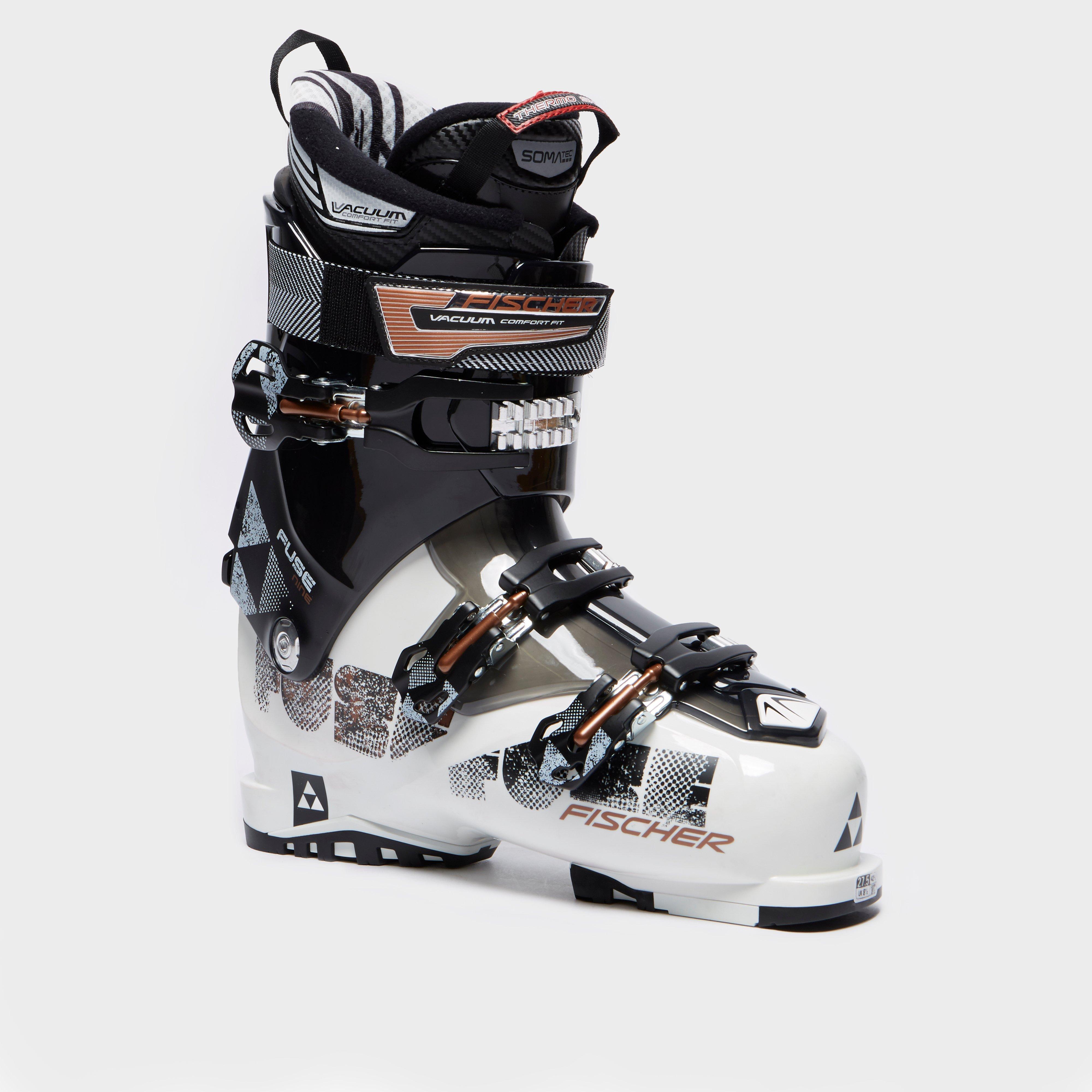 Fischer Sports Men's Fuse 9 Vacuum CF Ski Boot, White