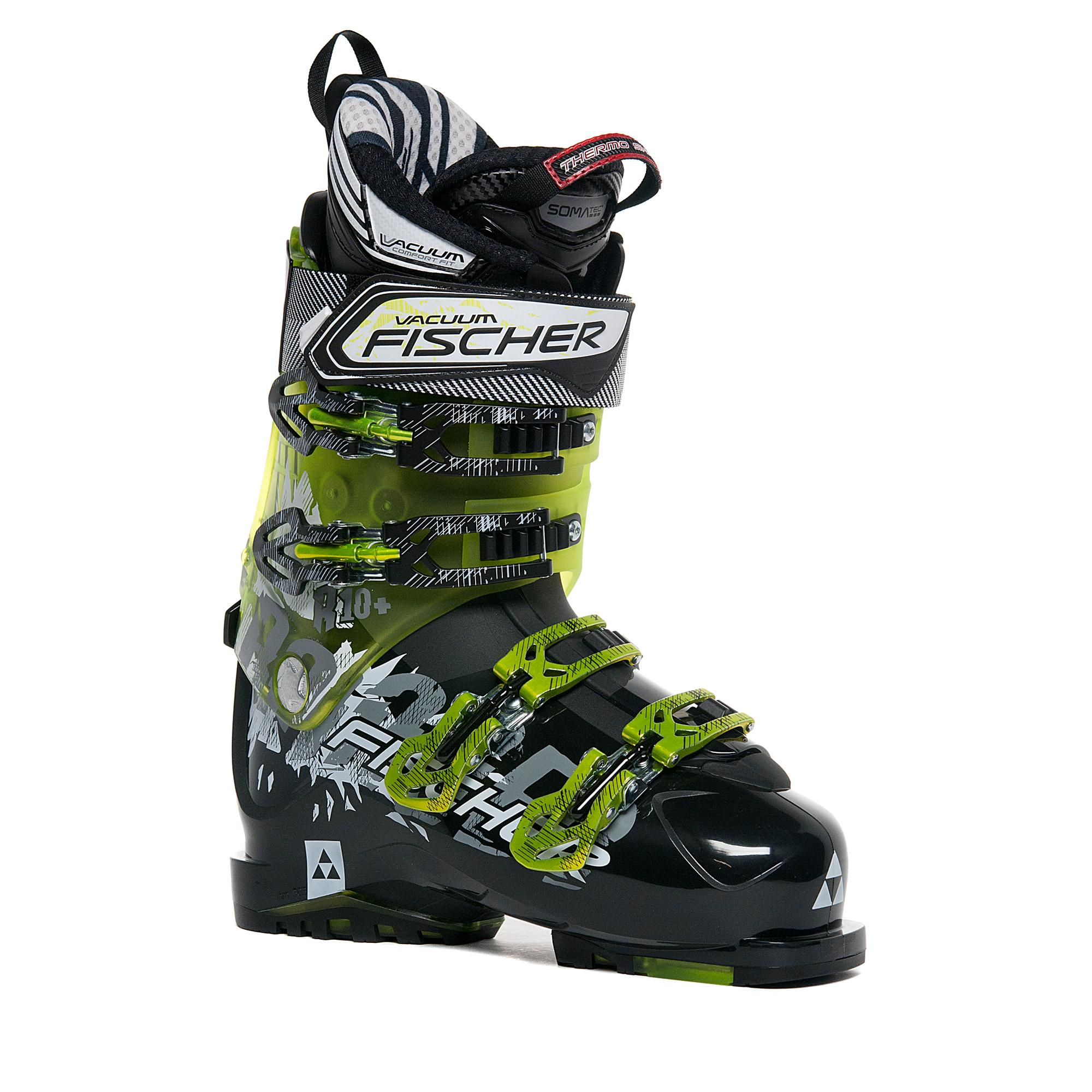 Fischer Sports Men's Ranger 10+ Vacuum Ski Boots, Black