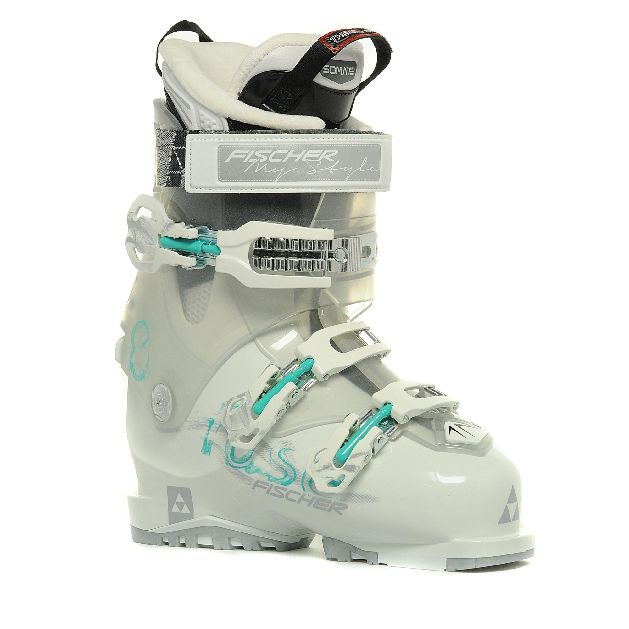 Fischer Sports Women's Fuse 8 Vaccum CF Ski Boot, White