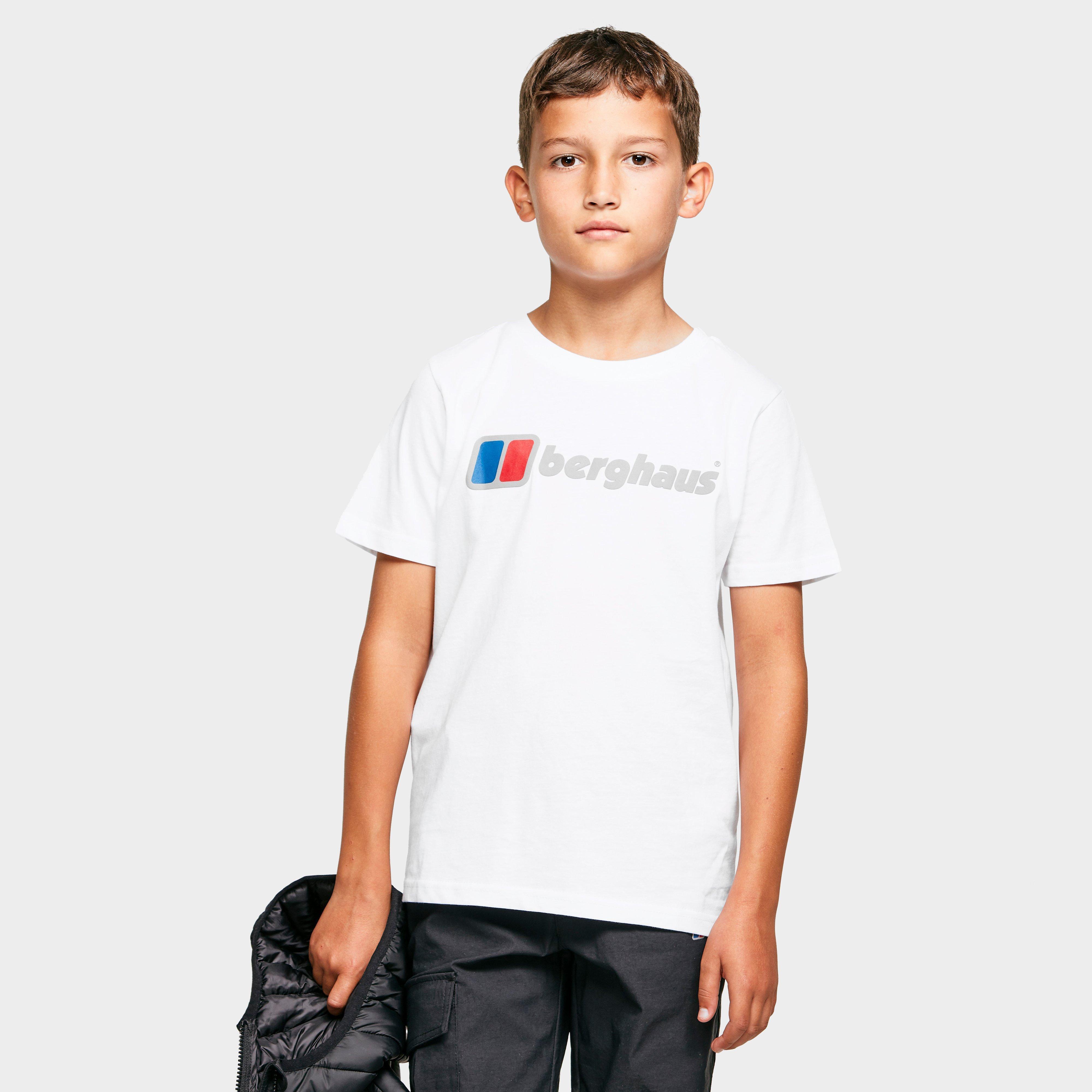Berghaus Kids Logo T-shirt - White  White