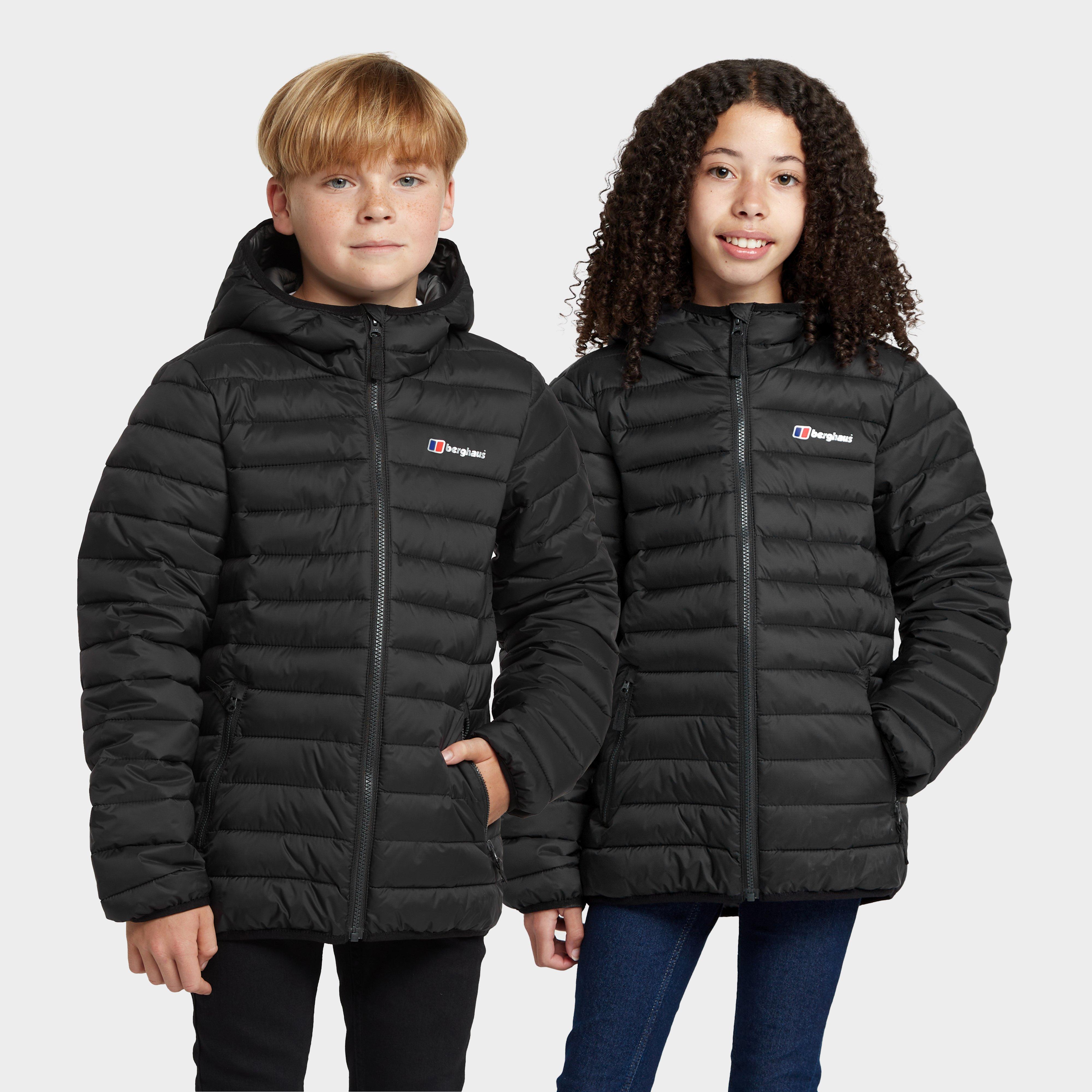 Berghaus Kids Kirkhale Baffle Jacket - Black  Black