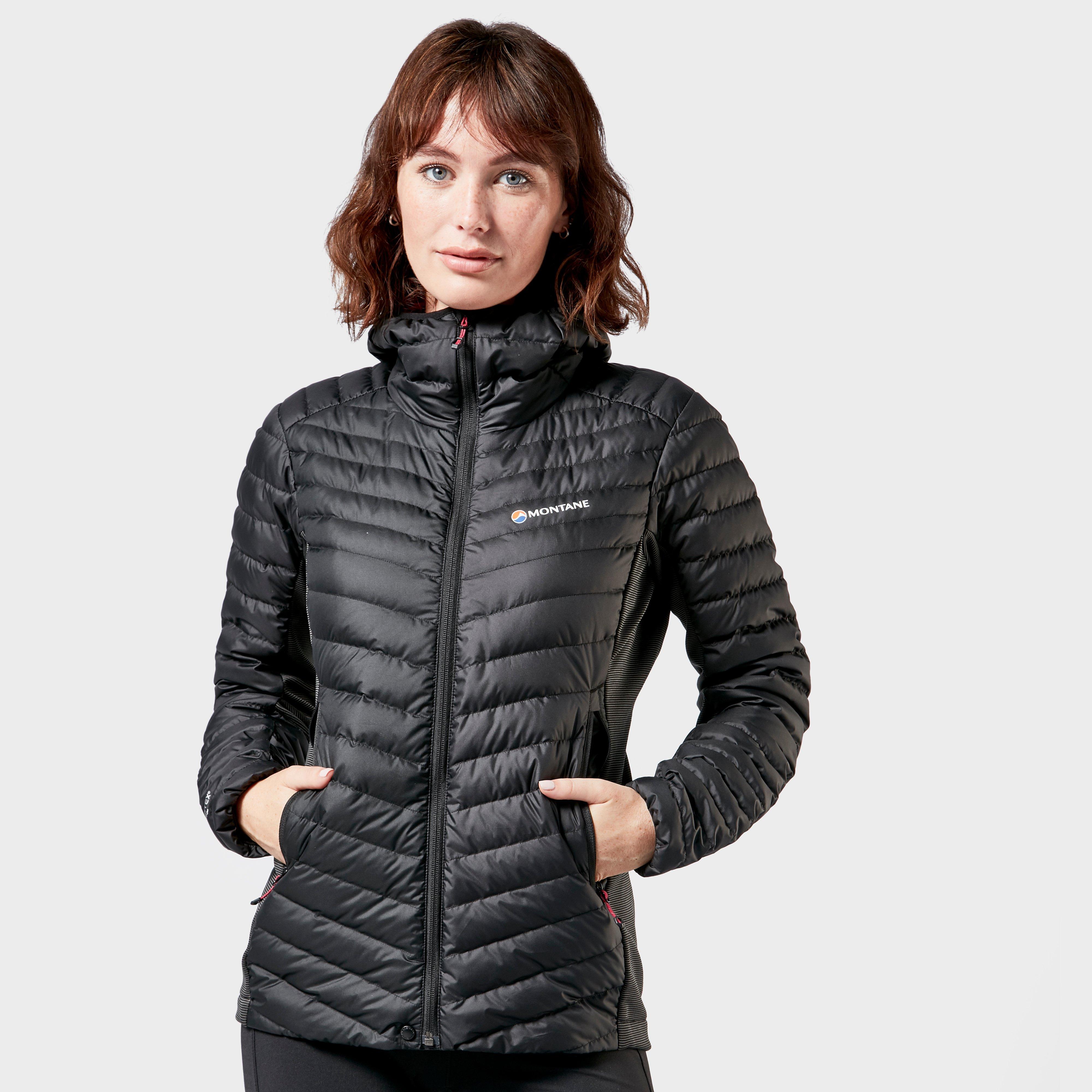 Montane Women's Crest Hybrid Jacket, Black