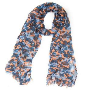 ONE EARTH Women's Cotton Camo Scarf