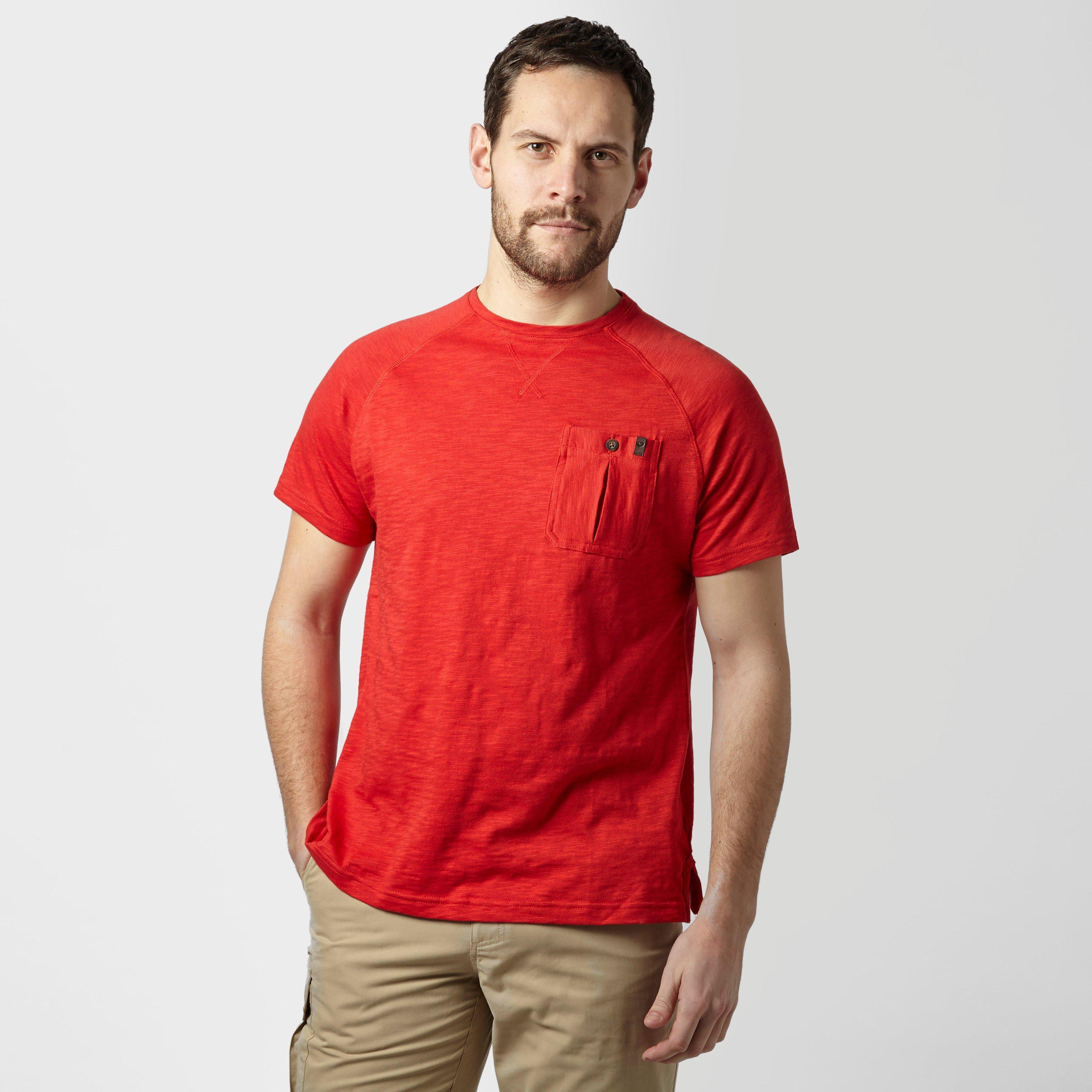 Brasher Mens Hopegill T-shirt - Red/red  Red/red