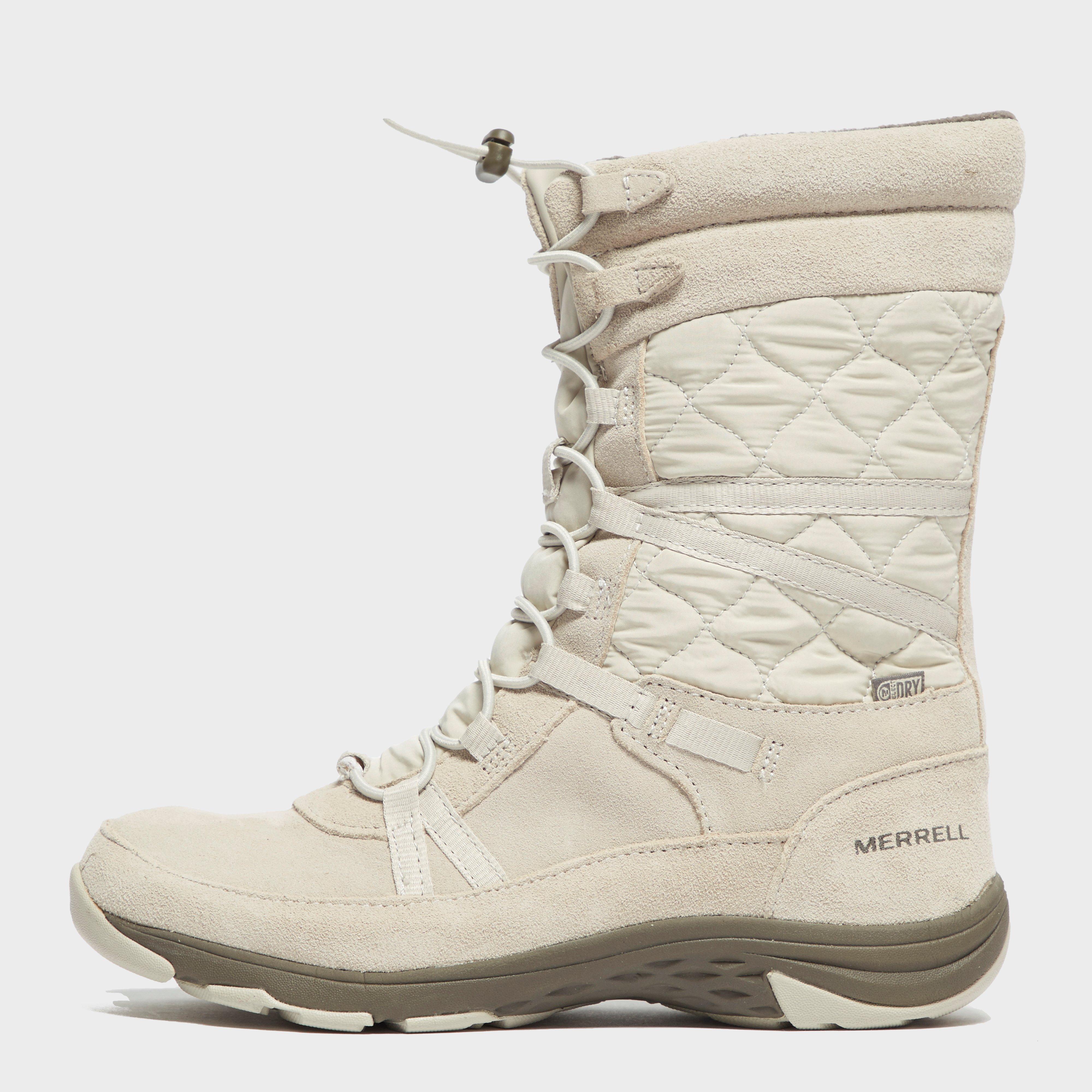 Merrell Womens Approach Tall Boots - Cream/lgy  Cream/lgy