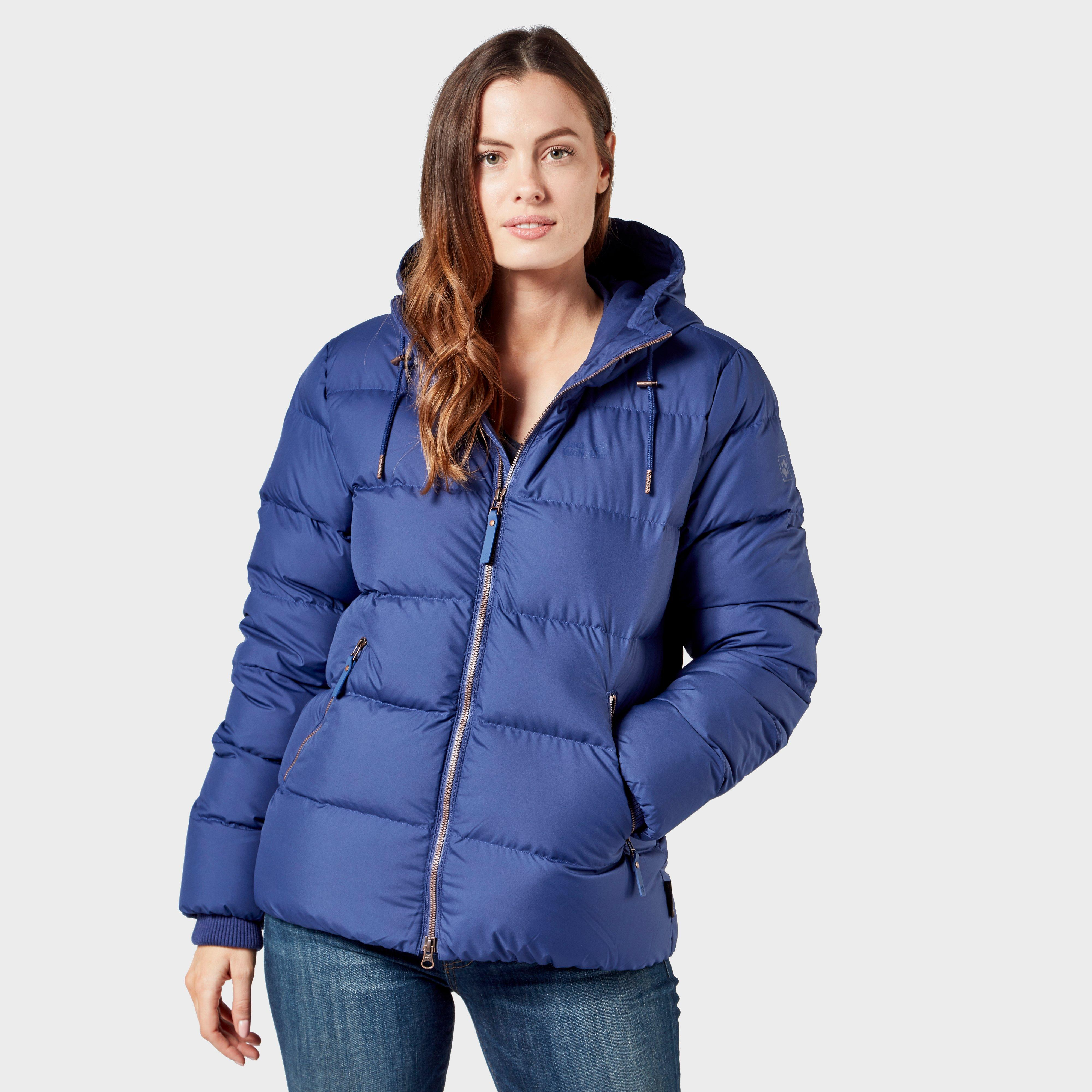 Jack Wolfskin Women's Crystal Palace Short Jacket, Blue