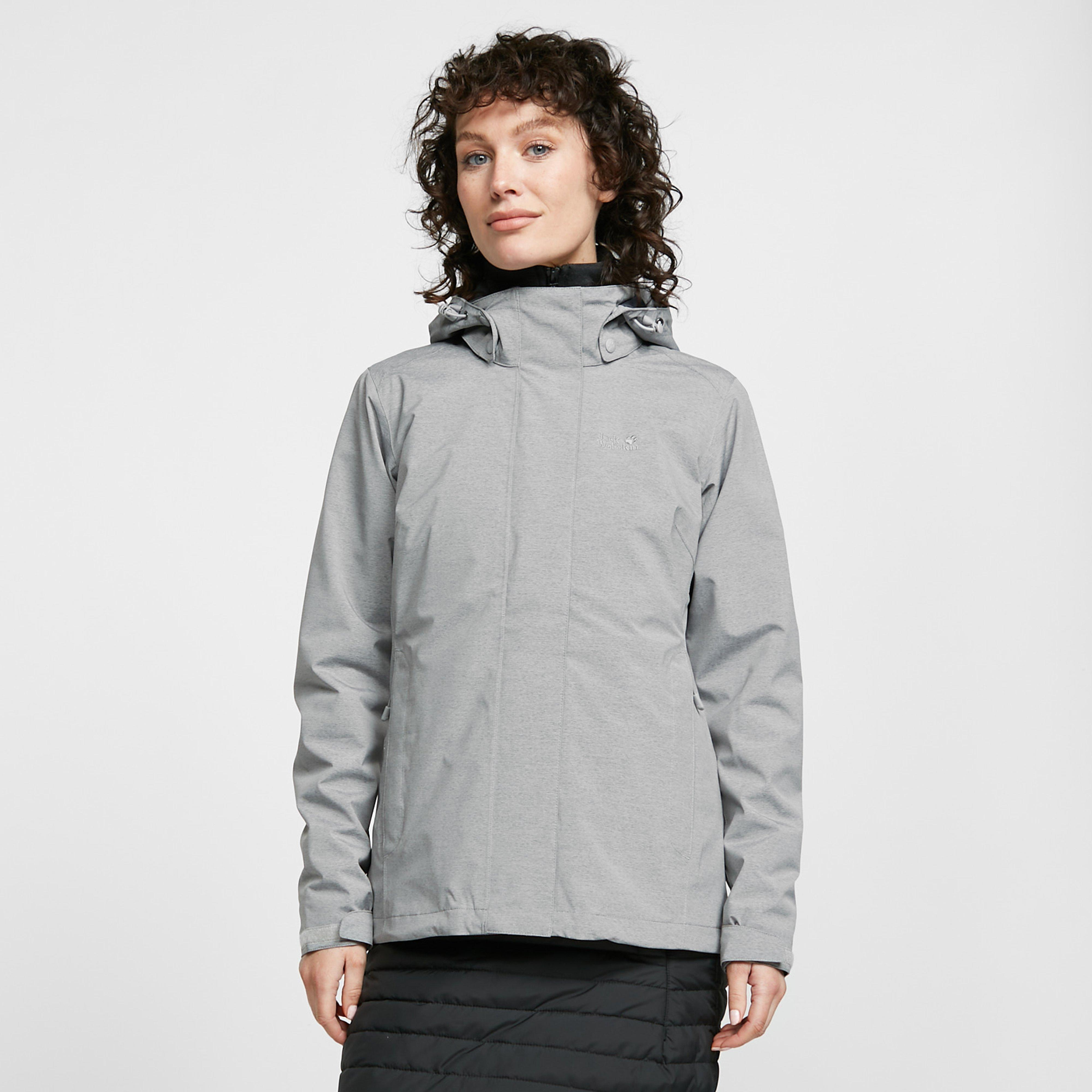 Jack Wolfskin Women's Paradise Valley Jacket, Grey