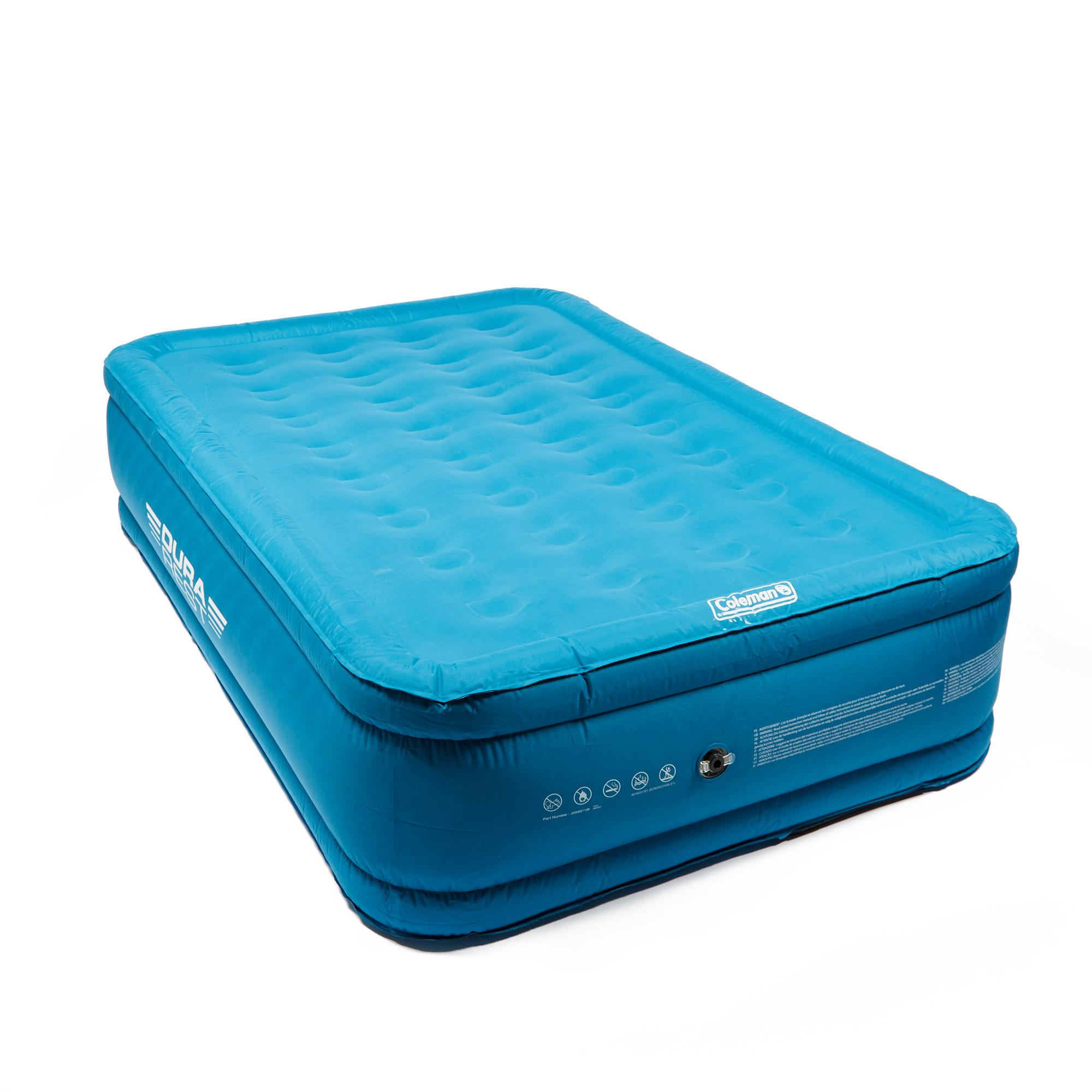 Coleman DuraRest Raised Double Airbed Blue