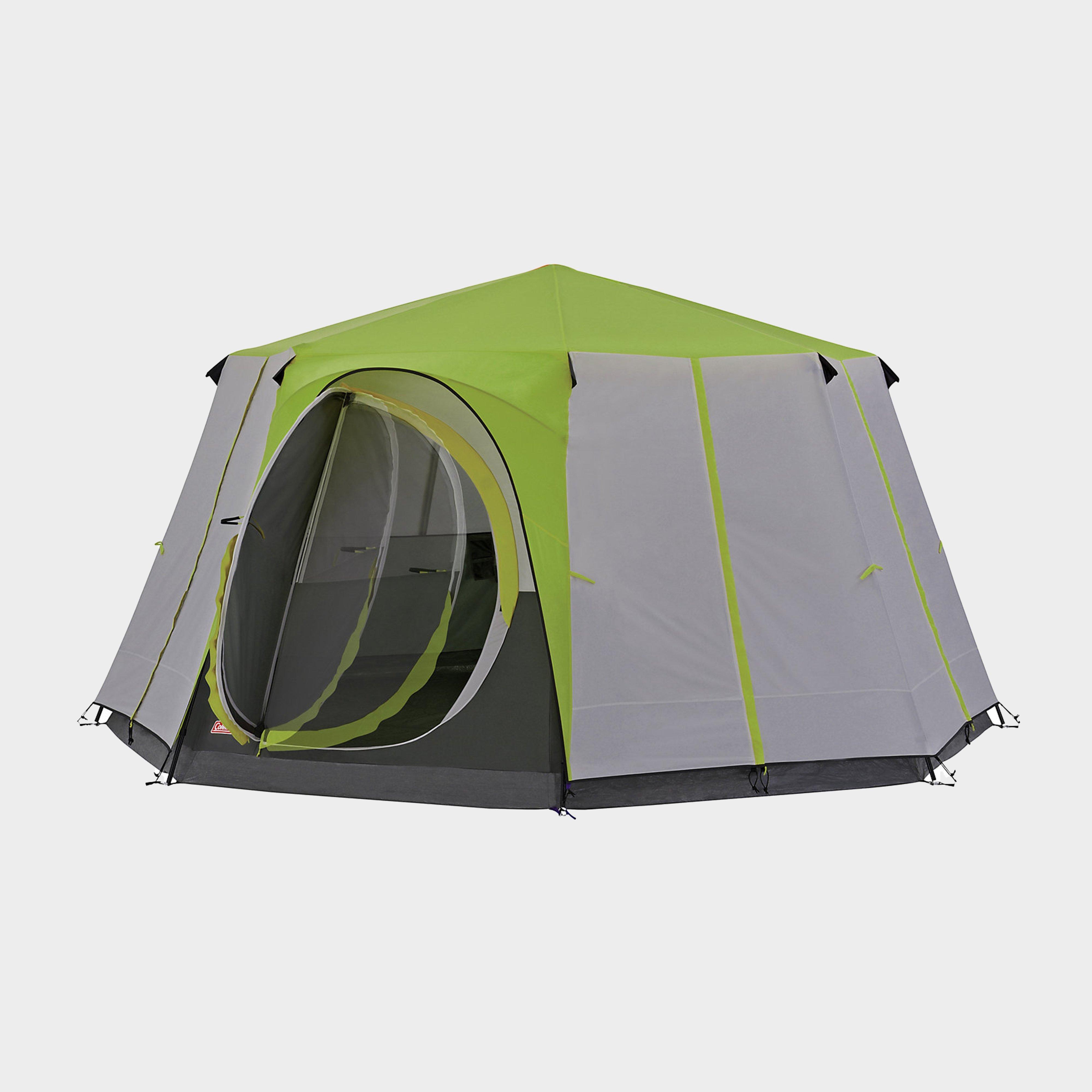 Coleman Cortes Octagon 8 Tent - Green/grn  Green/grn