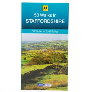 AA 50 Walks Staffordshire
