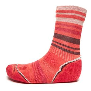 SMARTWOOL Women's PHD Lightweight Patterned Crew Socks