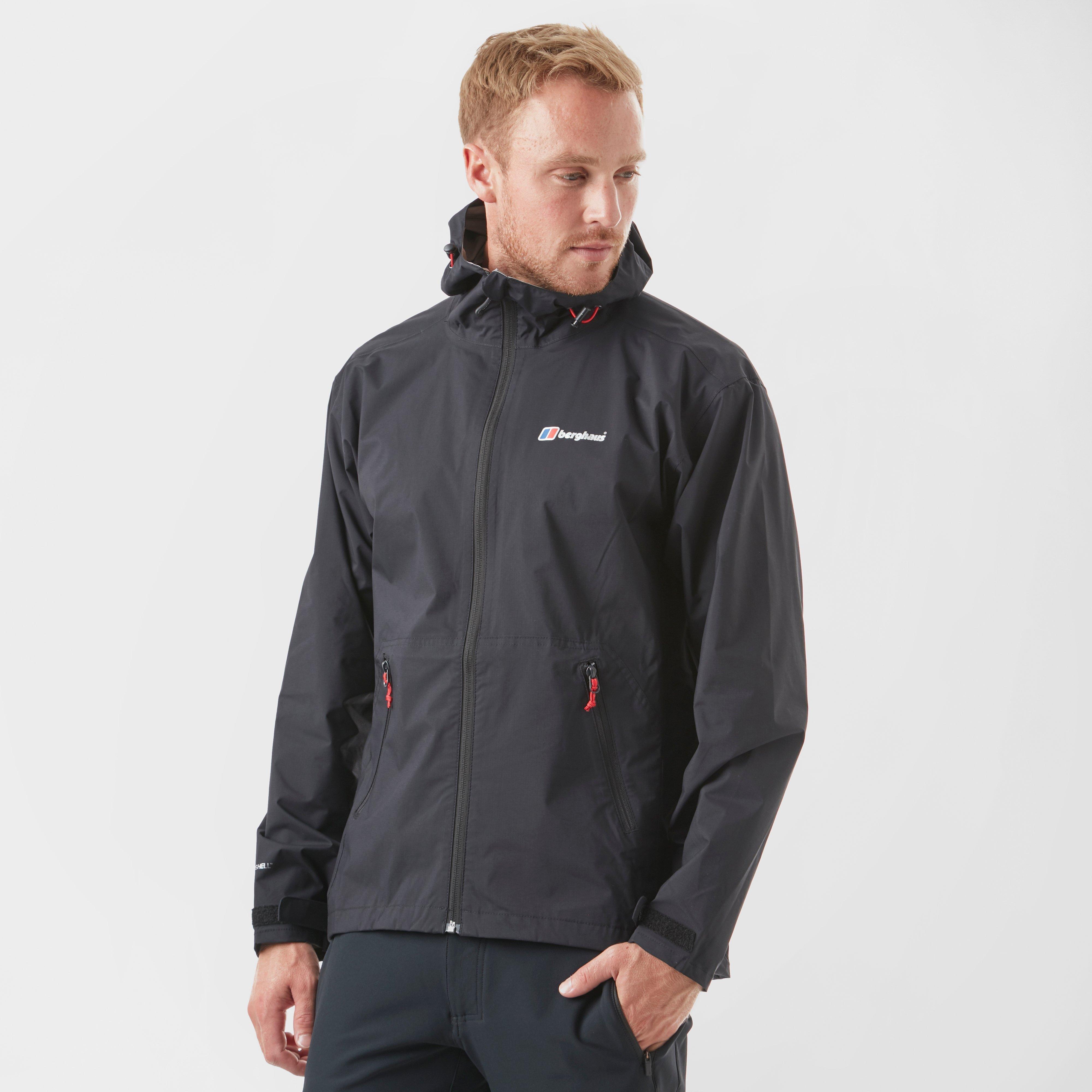Berghaus Mens Stormcloud Waterproof Jacket - Black  Black
