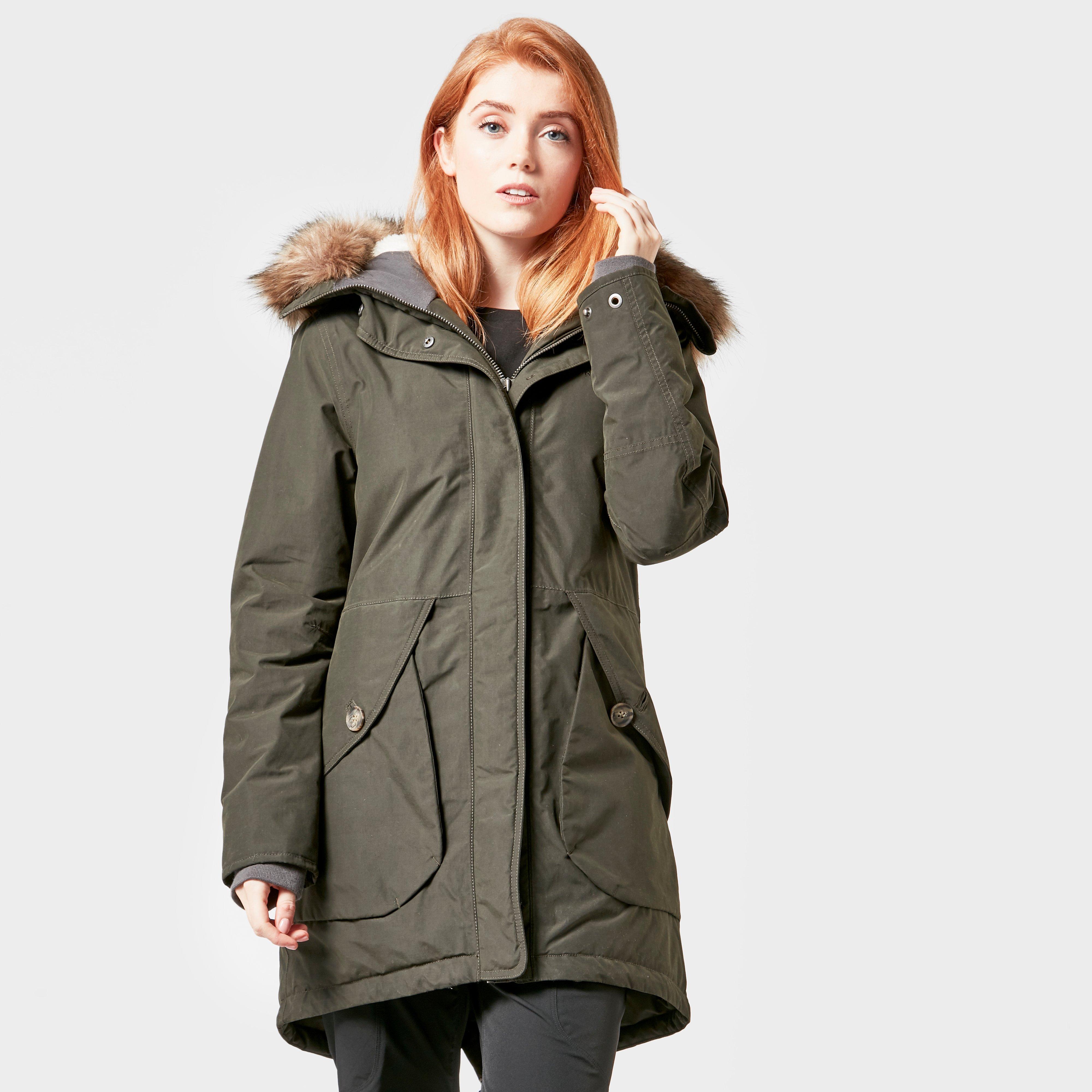 Didriksons Women's Angela Coat, Khaki