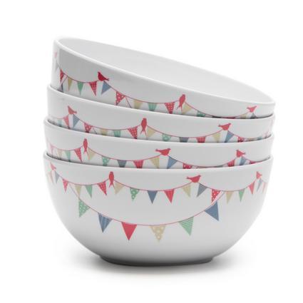 Summer Fête - Set Of 4 Bowls
