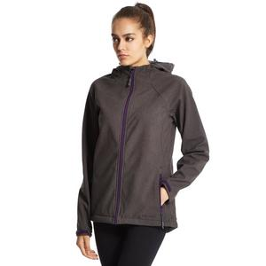 PETER STORM Women's Softshell Hooded Marl Jacket