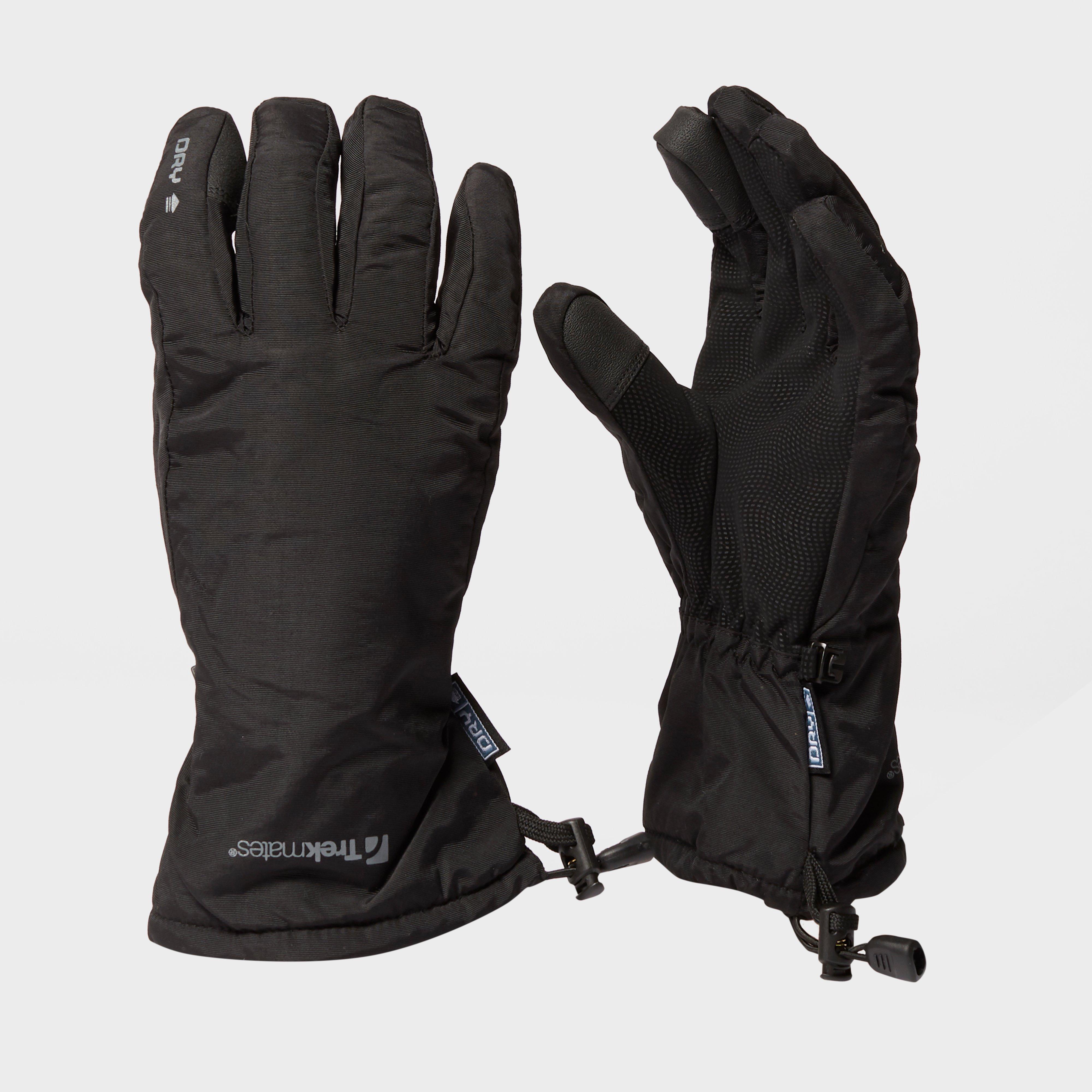 Trekmates Mens Beacon Gloves - Black/blk  Black/blk