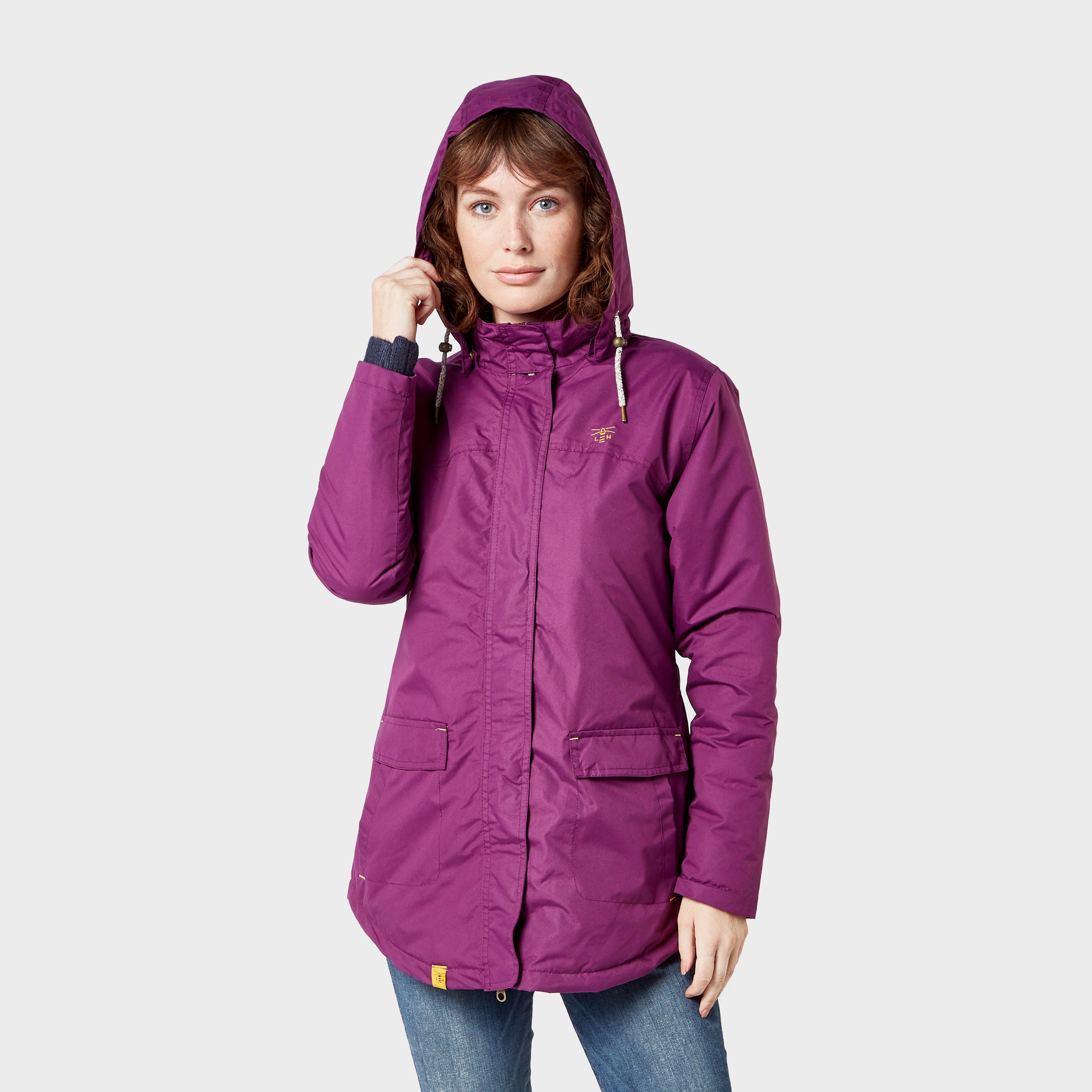 Lighthouse Women's Iona Waterproof Jacket, Purple