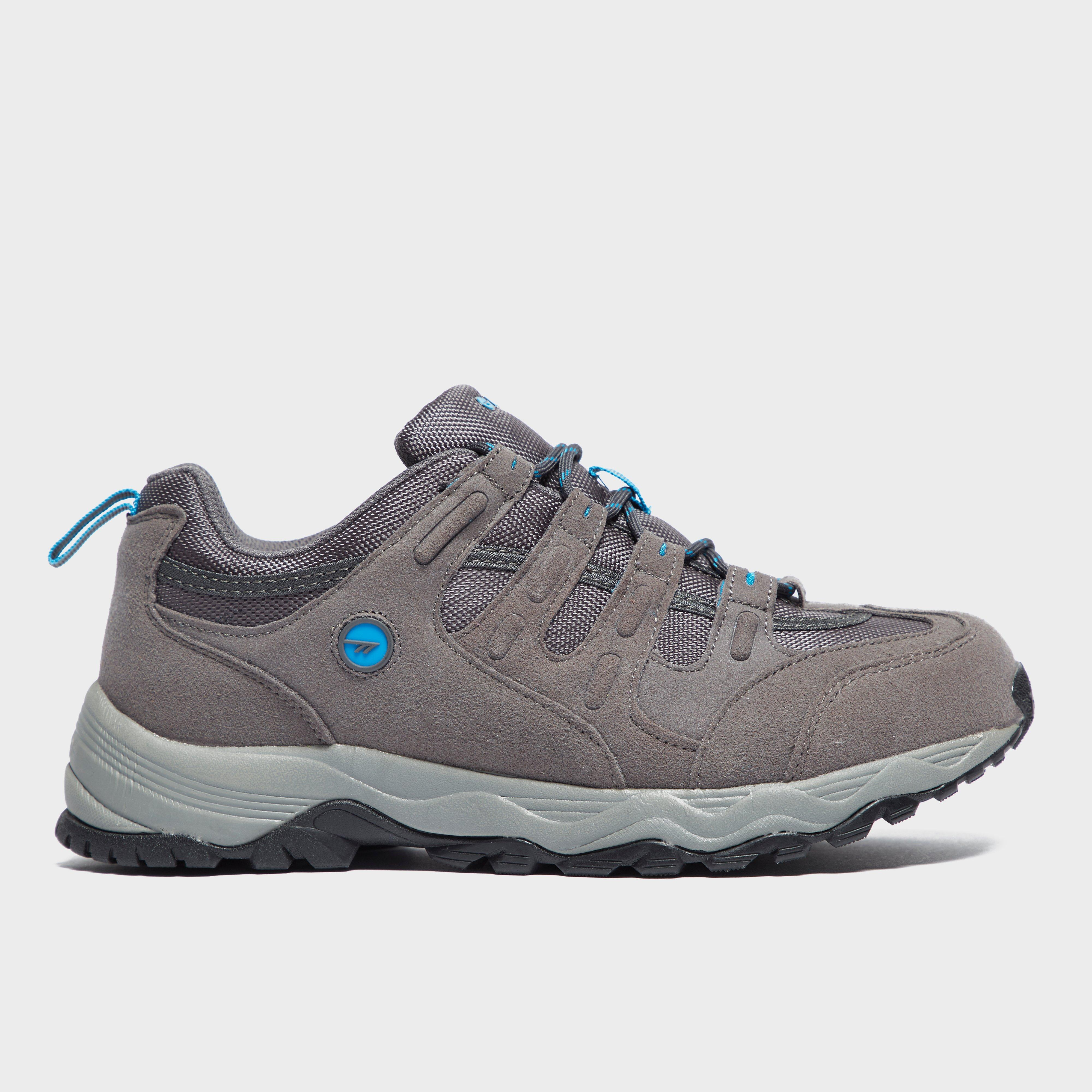 Hi Tec Mens Quadra Trail Shoes Grey