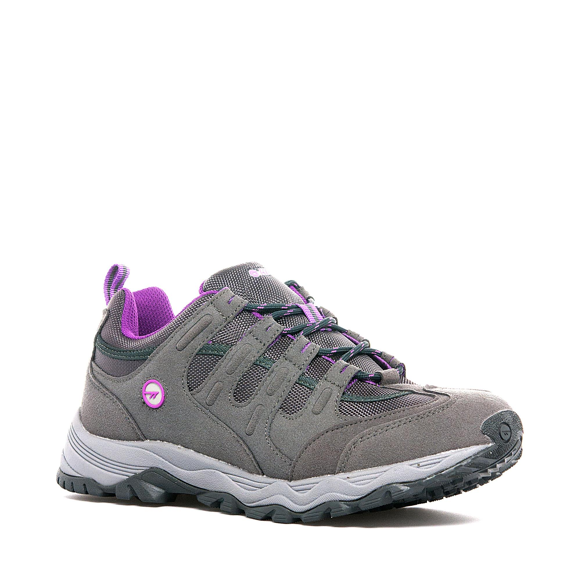 Hi Tec Womens Quadra Trail MultiSport Shoe Grey