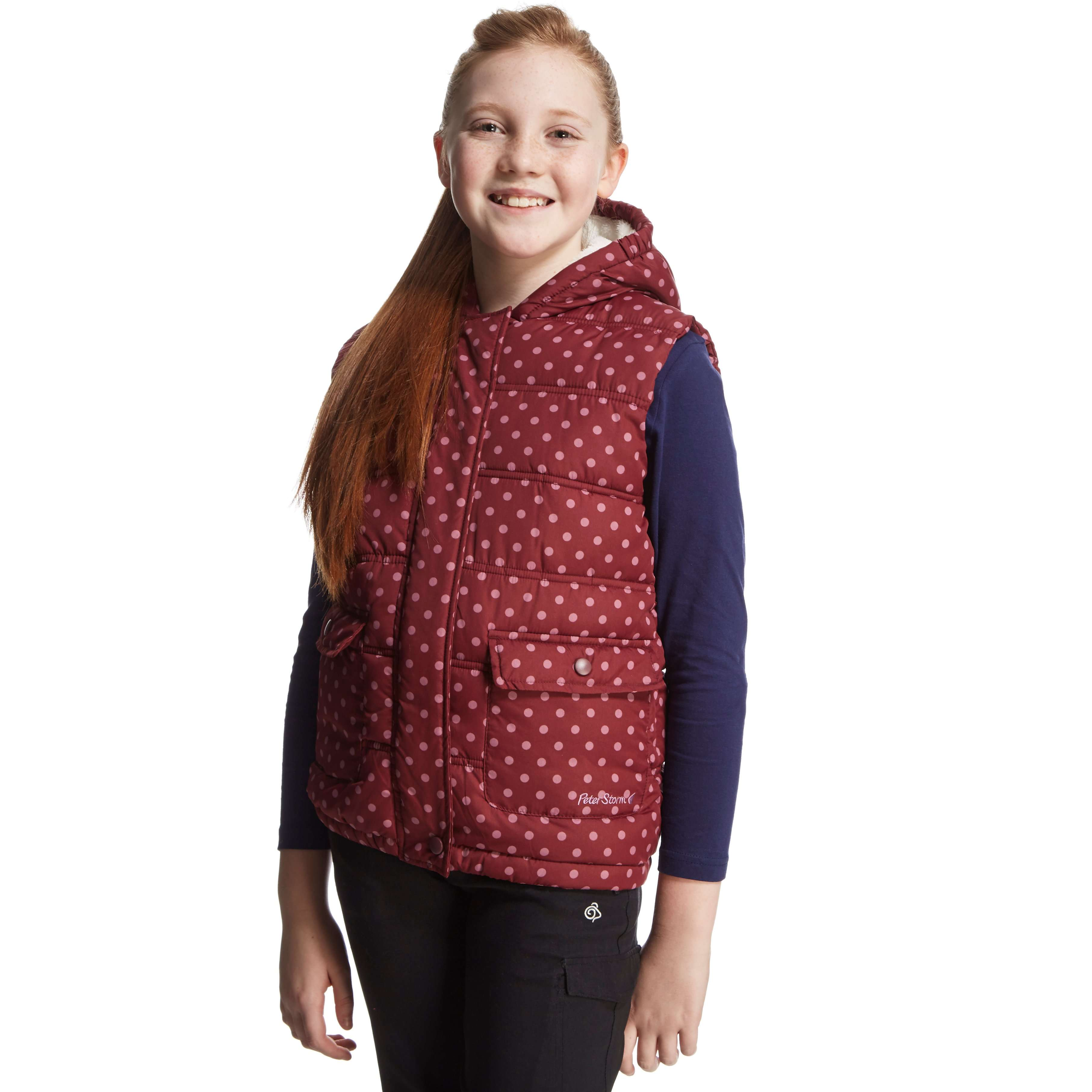 PETER STORM Girls' Ellen Gilet