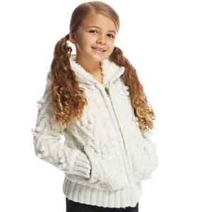 ANIMAL Wooley Girls Knitted Full Zip Hoodie