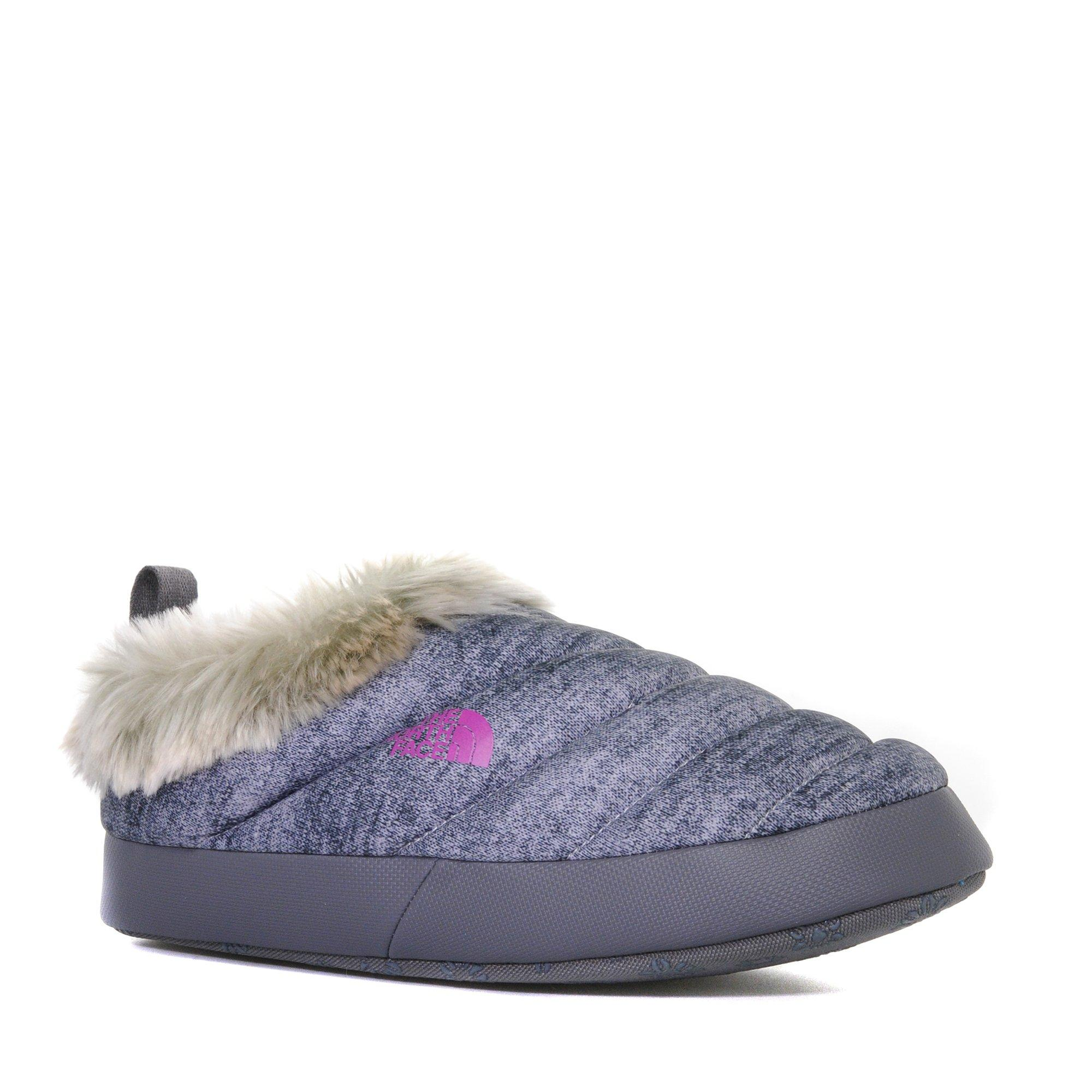 The North Face Womens Nse Tent Mule Faux Fur II Slipper Grey