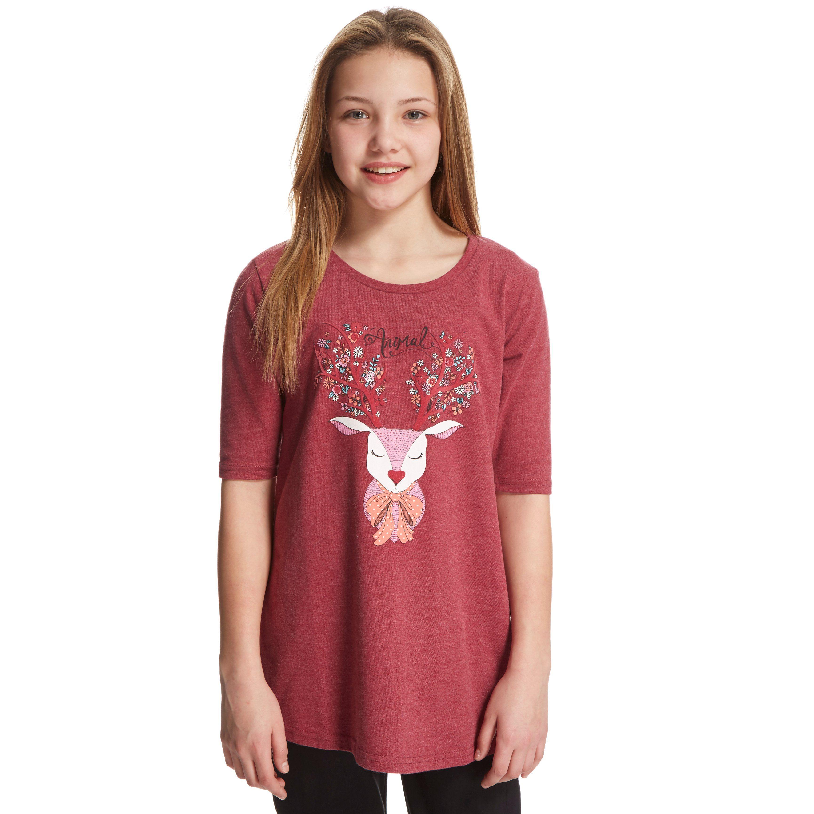 ANIMAL Girls' Dotty Doe T-Shirt