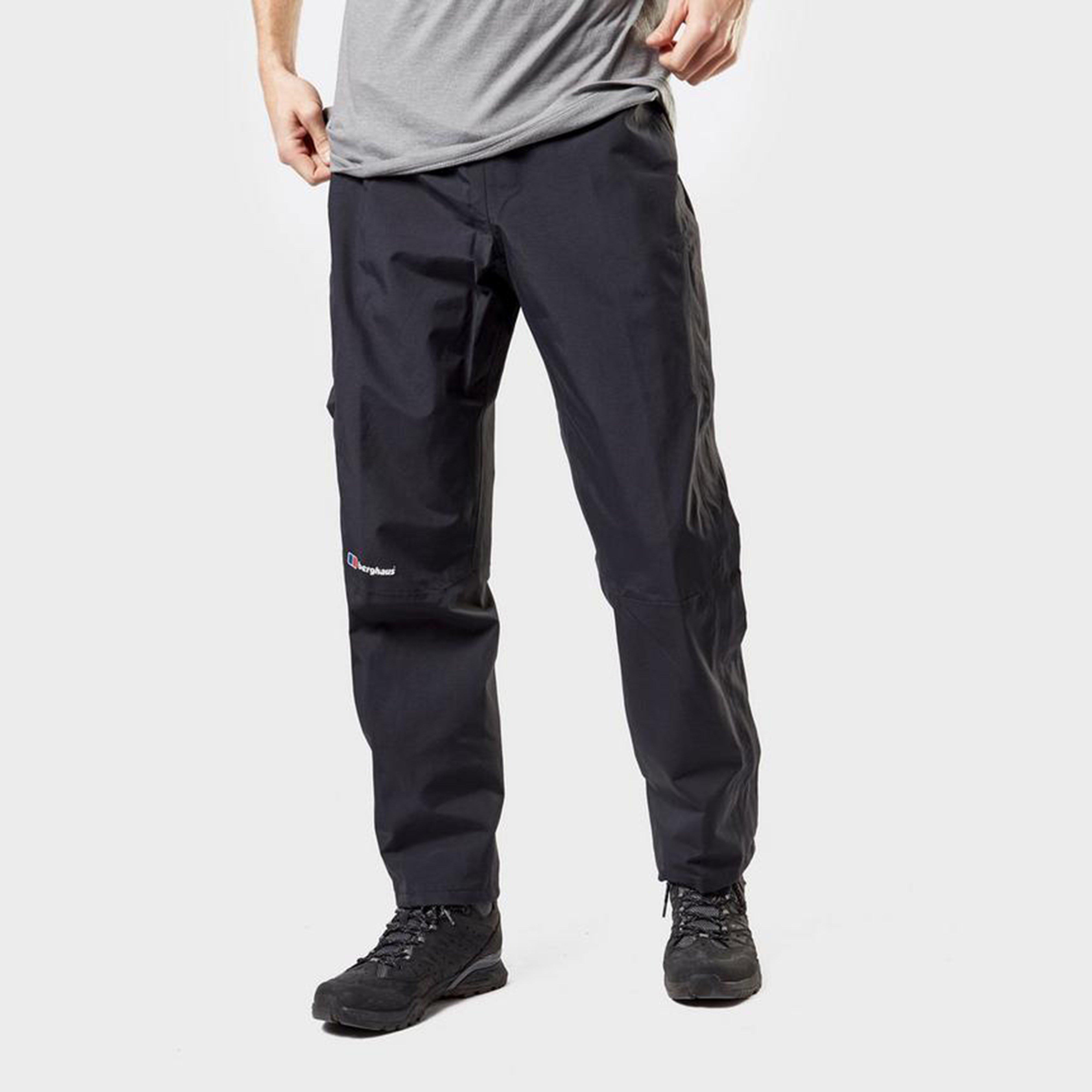Berghaus Mens Maitland Gore-tex Overtrousers (short) - Black/s  Black/s