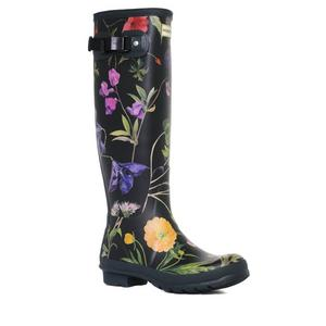 Hunter Women's RHS Floral Tall Wellington Boot