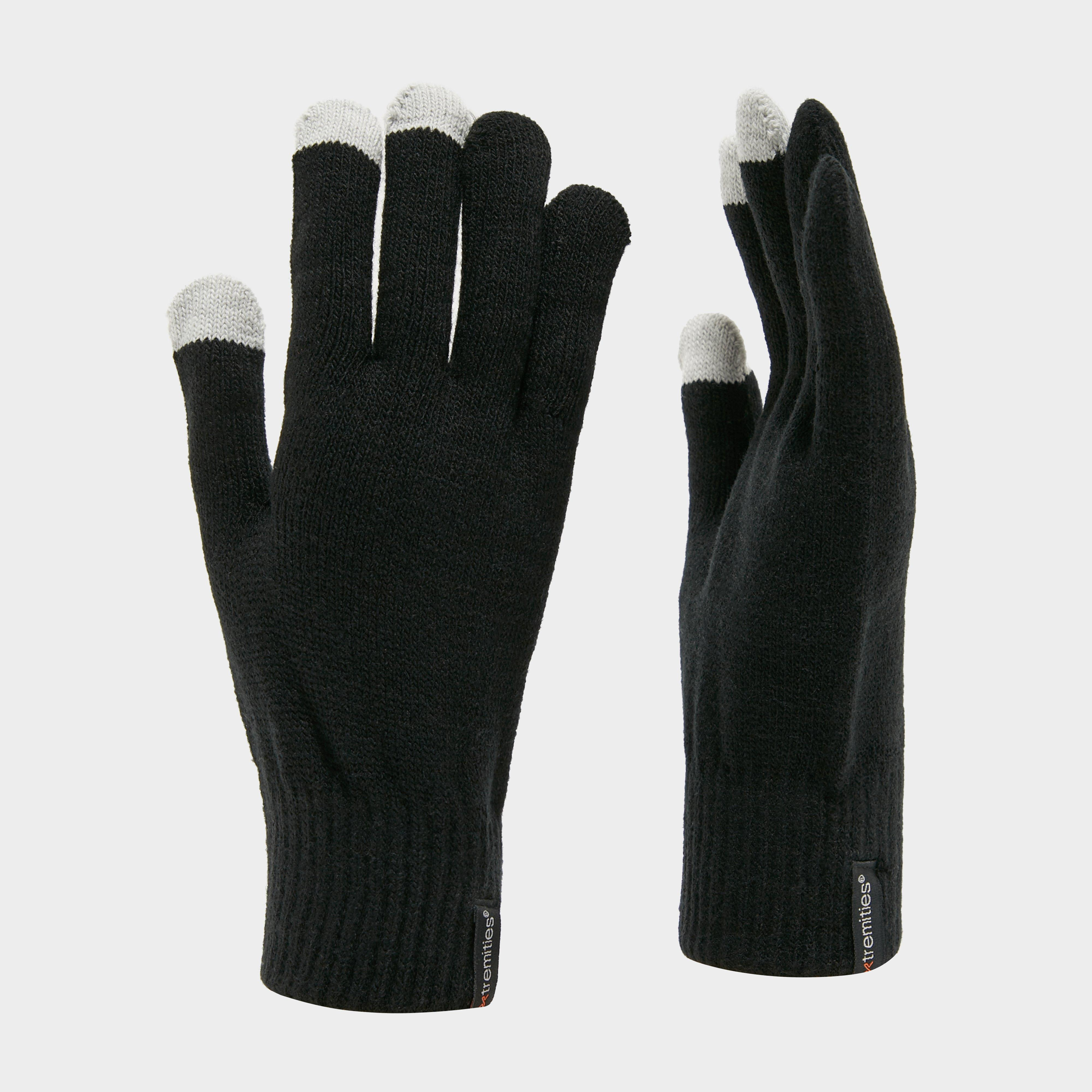 Extremities Thinny Touch Glove - Black, Black