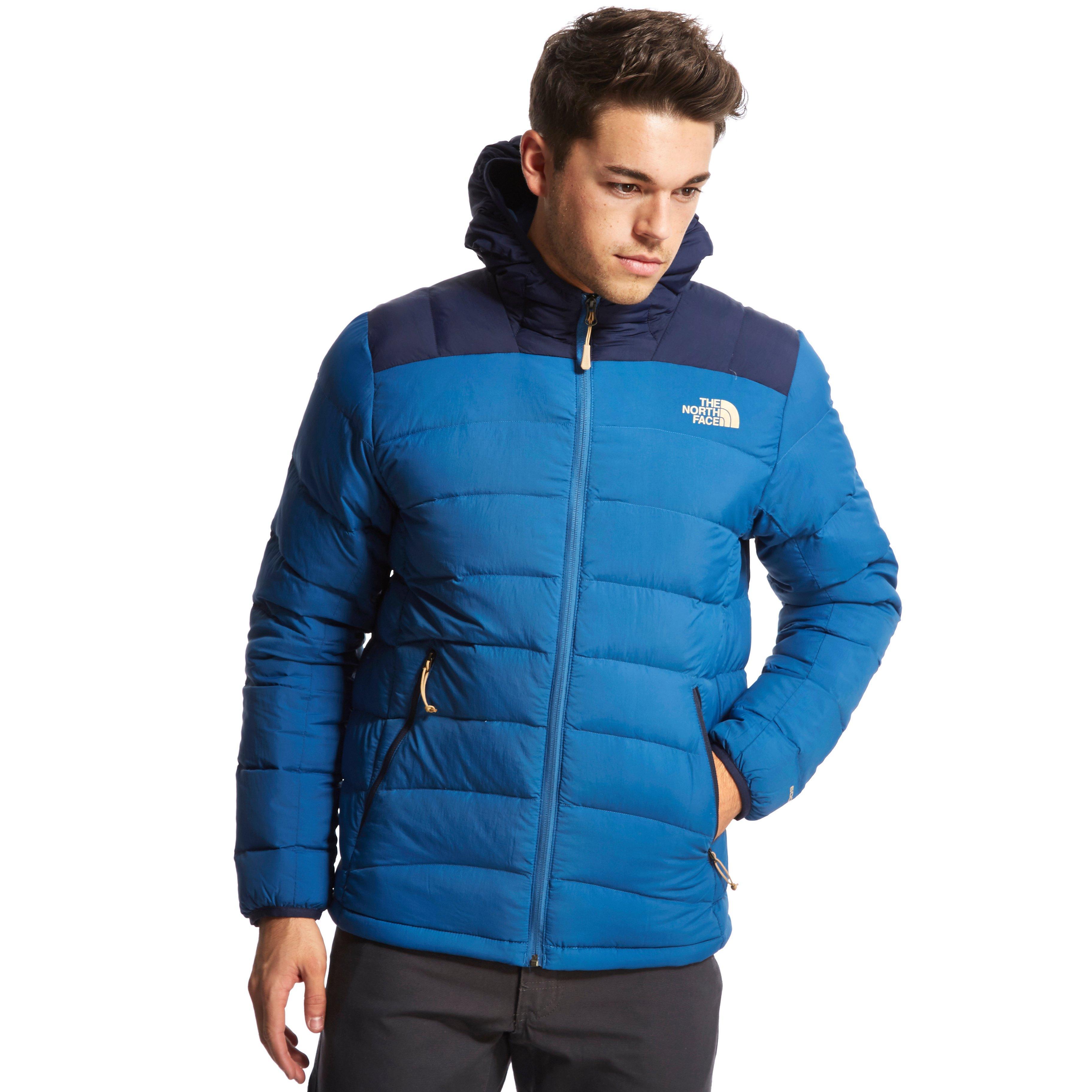 The North Face Mens La Paz Down Jacket Blue