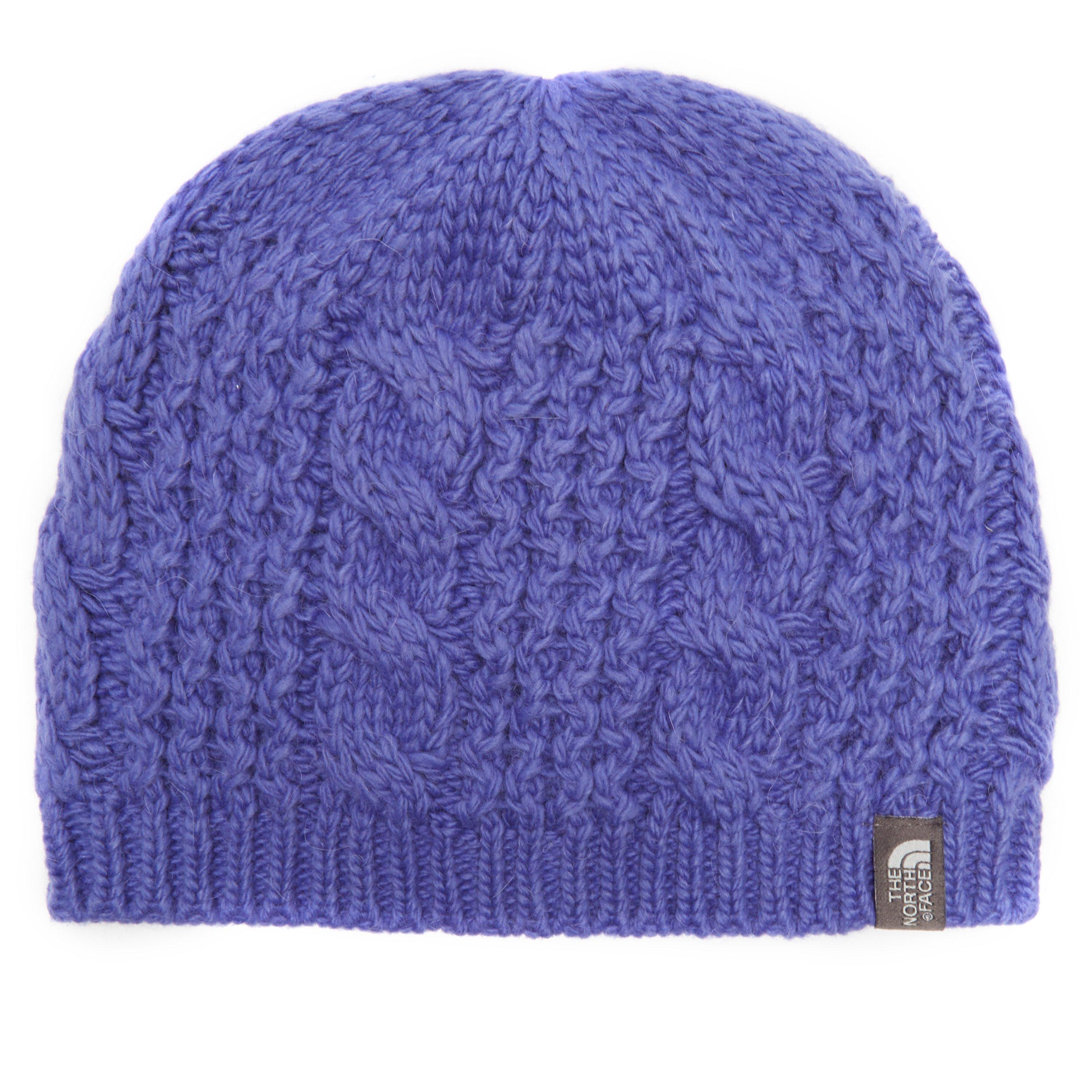 The North Face Womens Cable Minna Beanie Purple