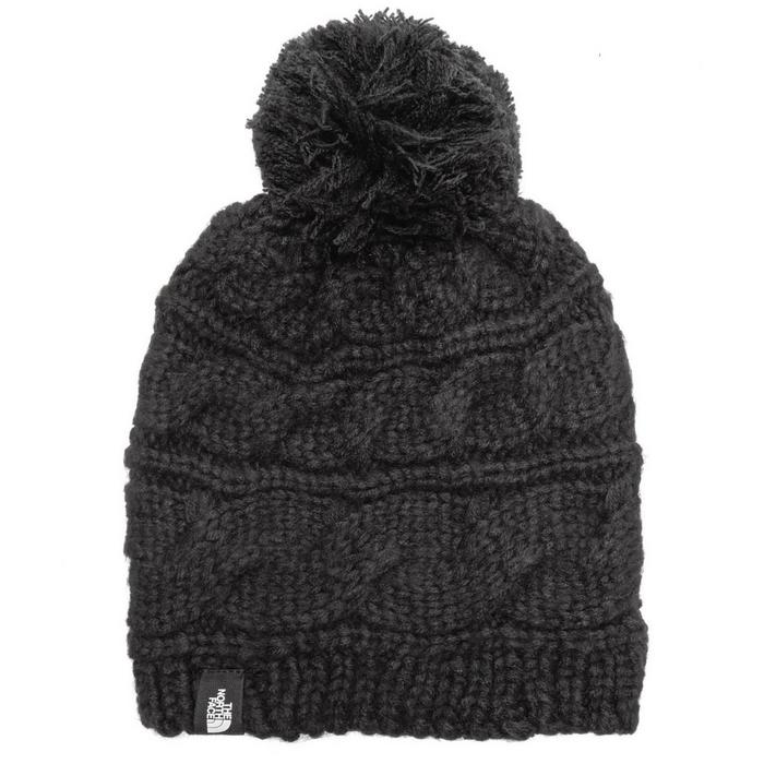Women's Cable Pom Pom Beanie