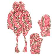 Girl's Hat and Glove Set