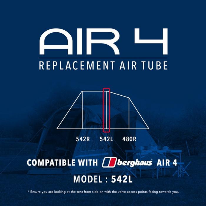 Air 4 Tent Replacement Air Tube  542L