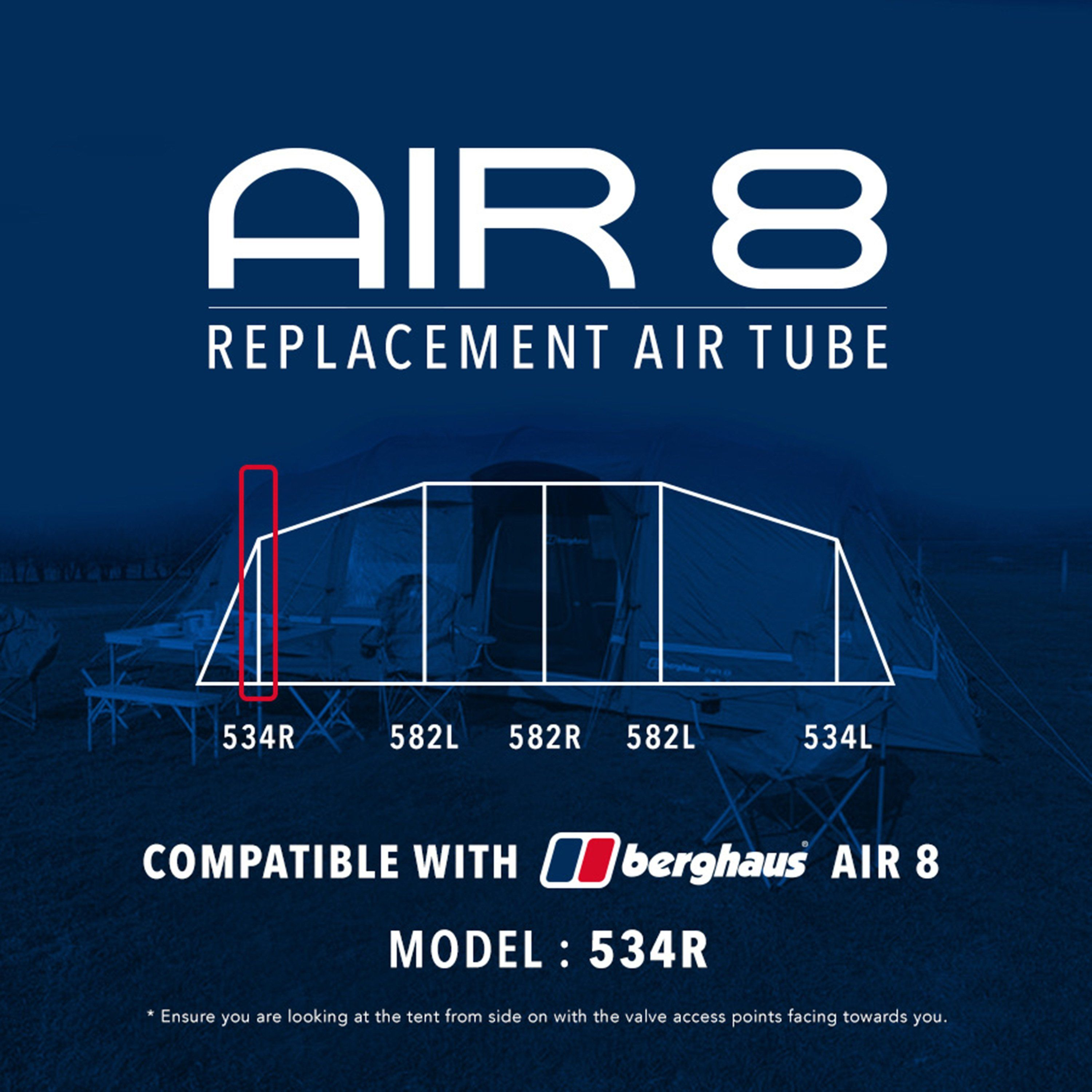 EUROHIKE Air 8 Tent Replacement Air Tube - 534R