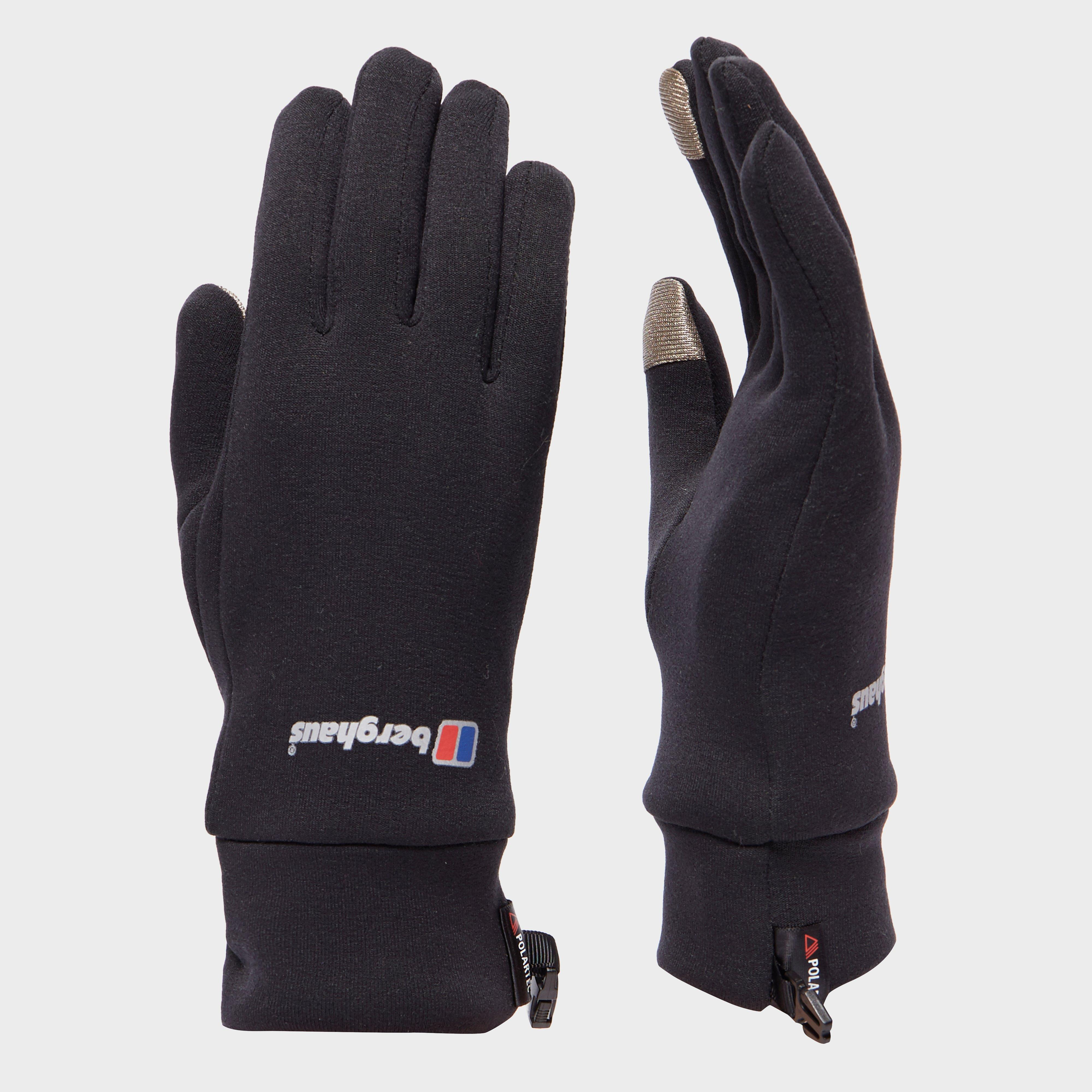 Berghaus Touch Screen Gloves - Black  Black
