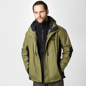 JACK WOLFSKIN Men's Brooks Range 3 in 1 Jacket