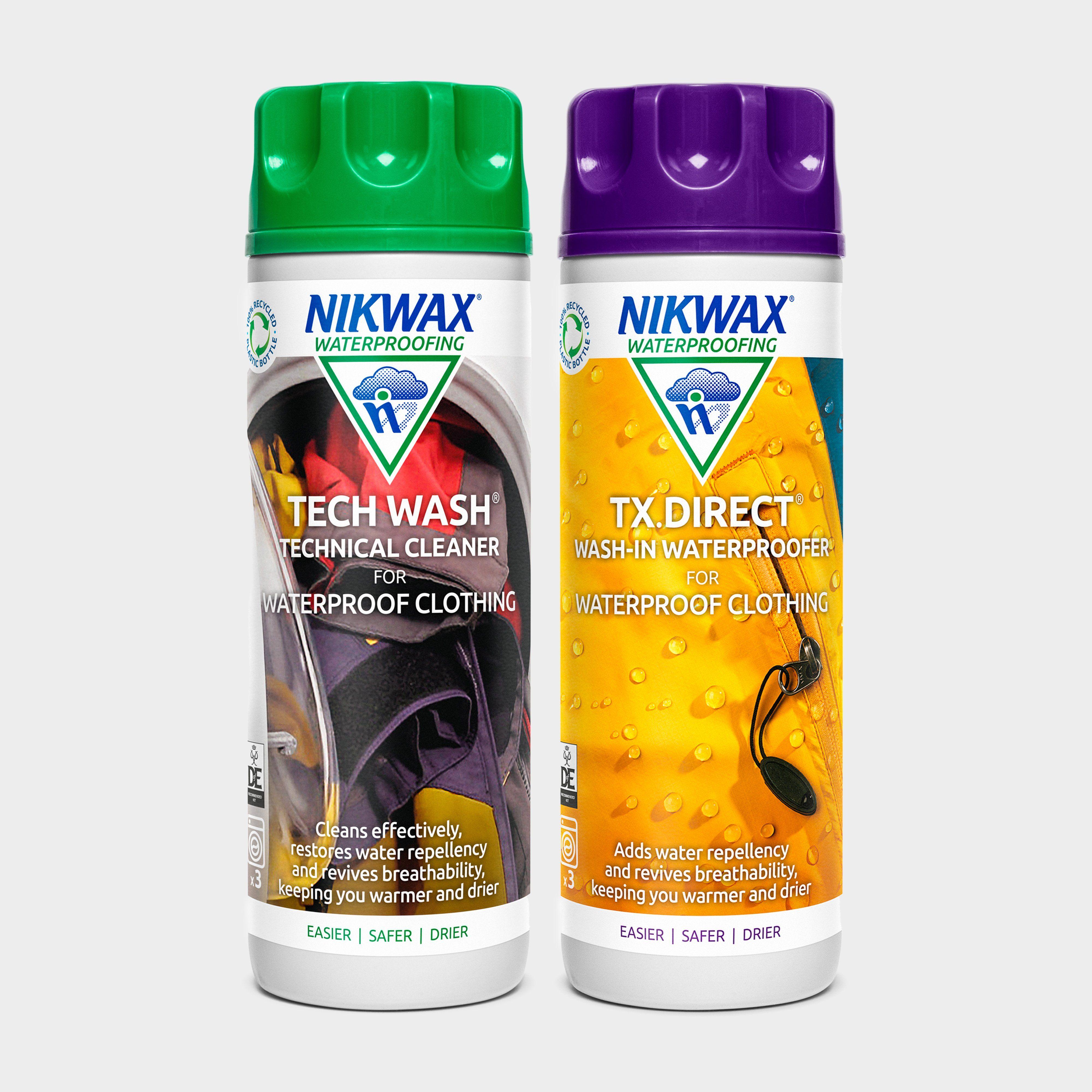 NIKWAX Tech Wash and TX Direct Twin Pack
