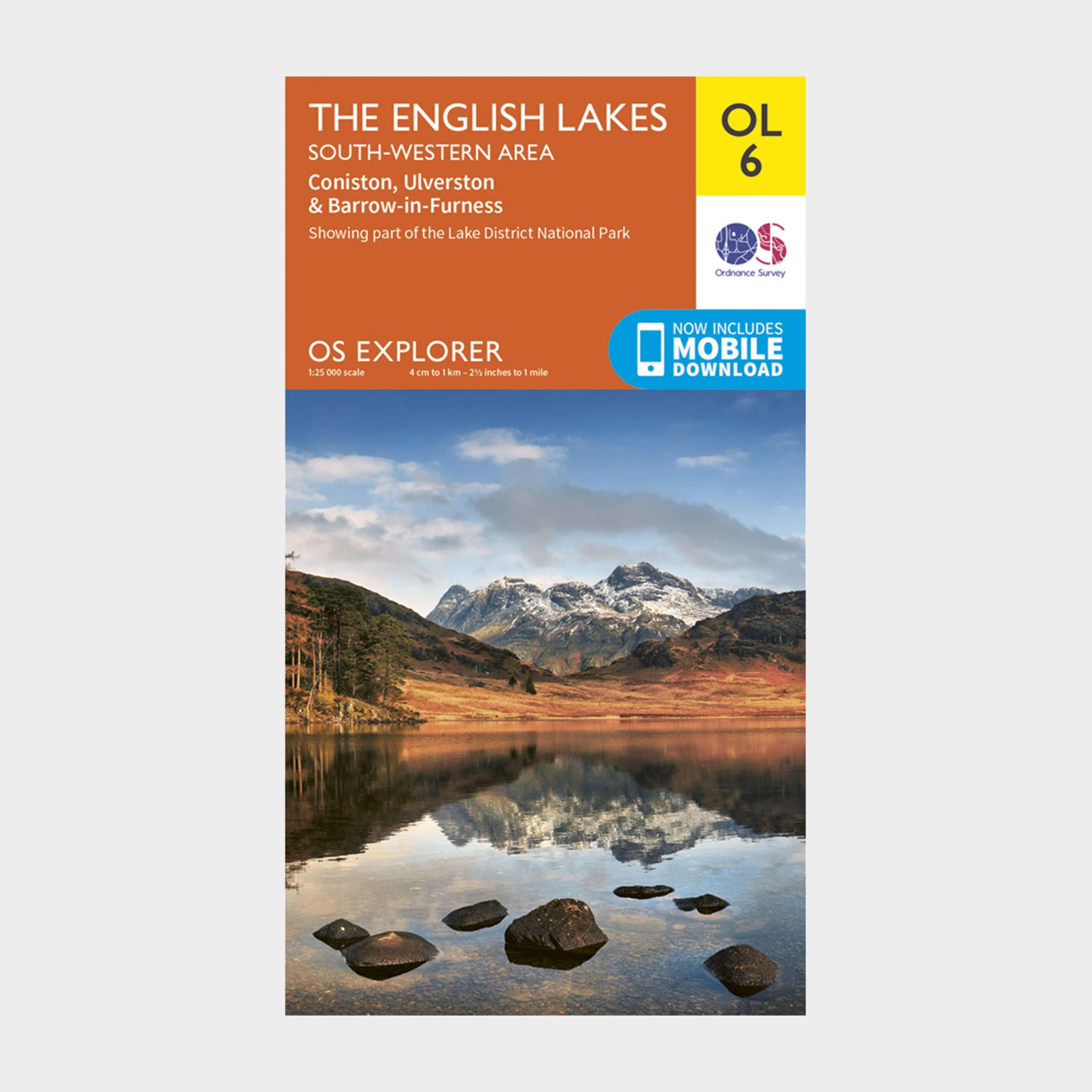 ORDNANCE SURVEY Explorer OL 6 The Lake District: South-western area