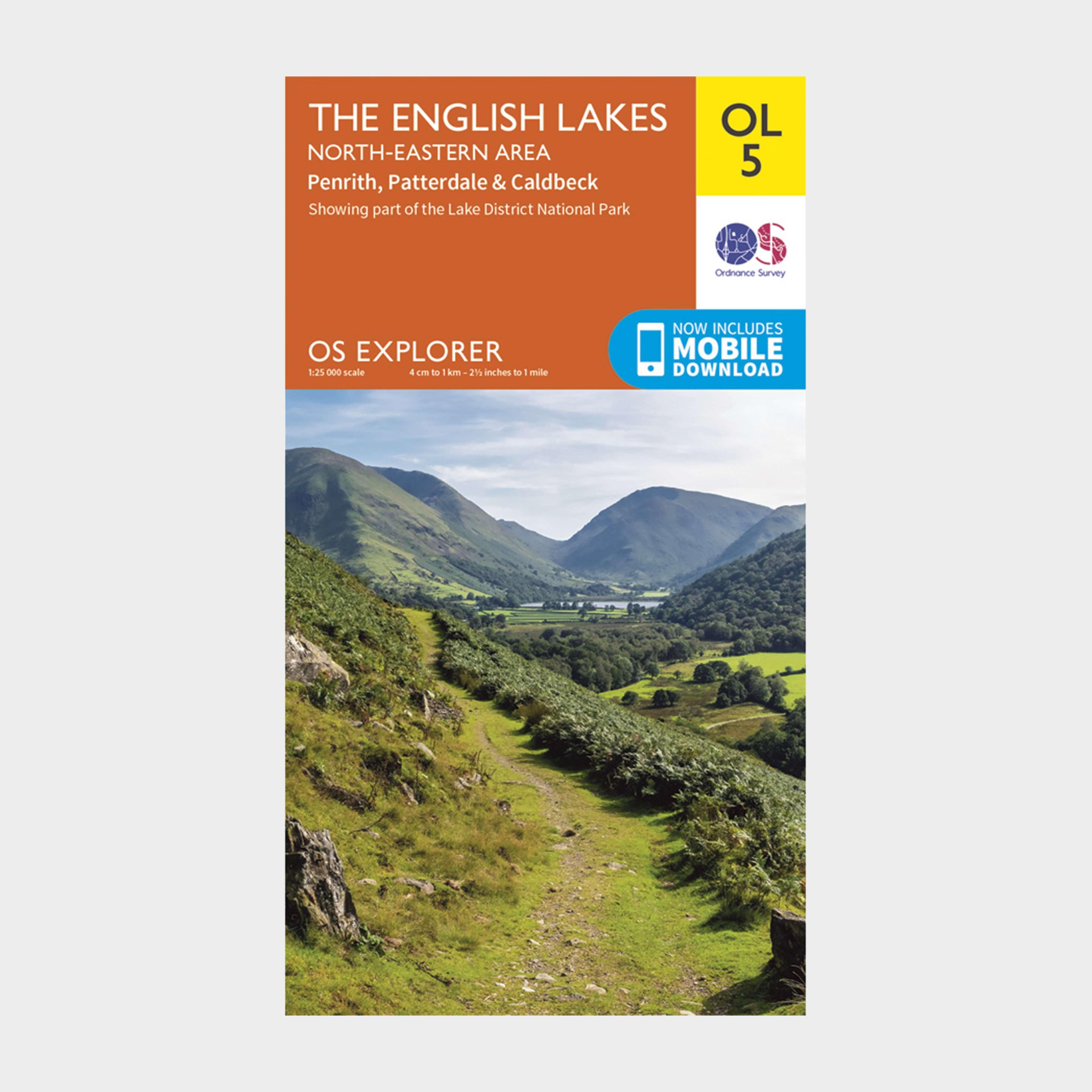 ORDNANCE SURVEY Explorer OL 5 The Lake District: North-eastern area