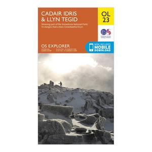 ORDNANCE SURVEY Explorer OL 23 Cadair Idris & Bala Lake Map