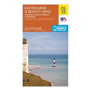 ORDNANCE SURVEY Explorer OL 25 Eastbourne & Beachy Head Map